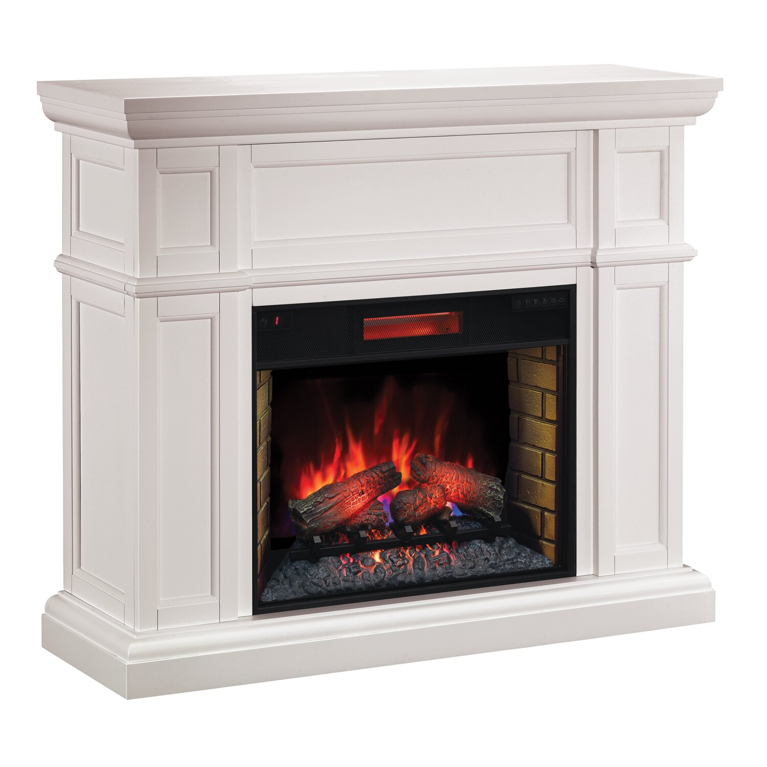 Classic Flame Artesian Infrared Electric Fireplace Wayfair Uk