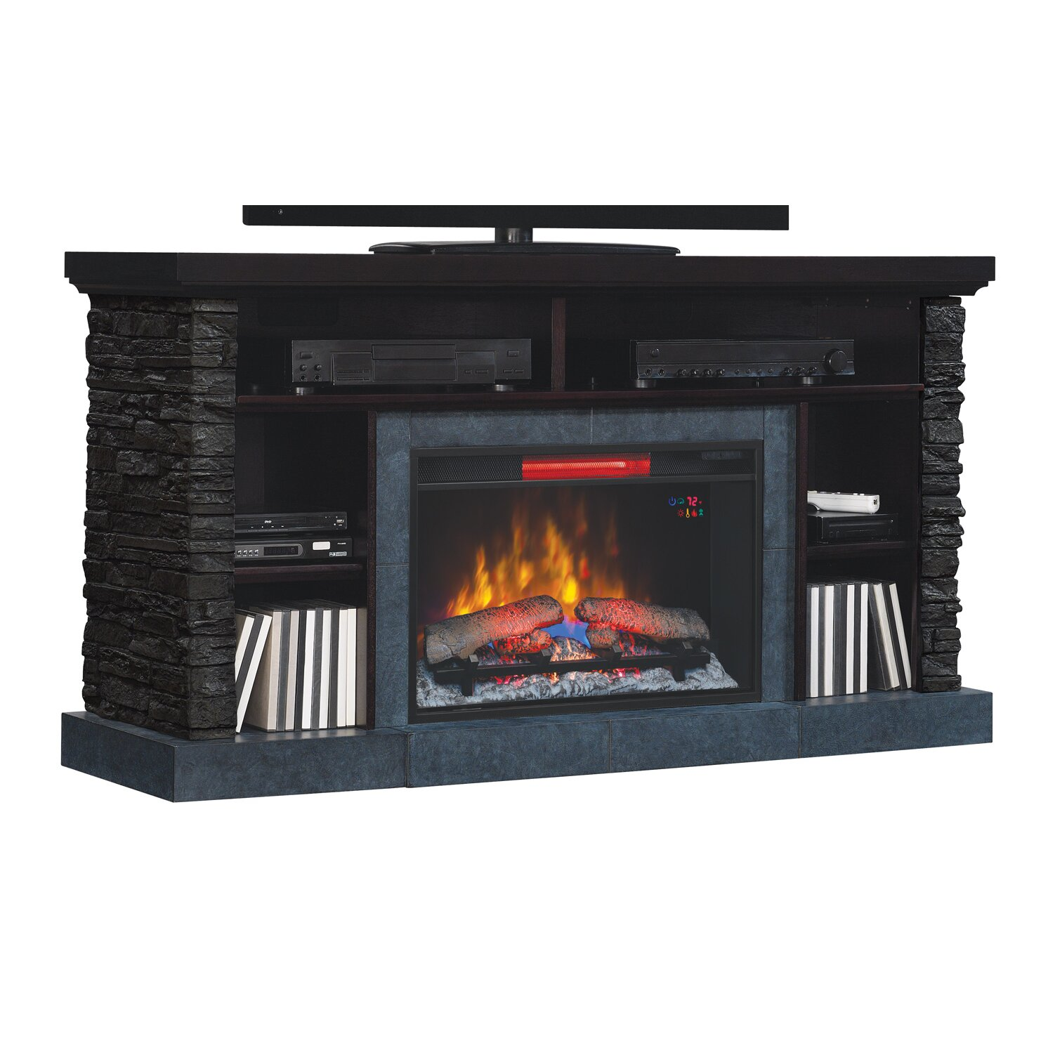 Classic Flame Matterhorn Tv Cabinets For Tvs Up To 65 With Electric Fireplace Reviews