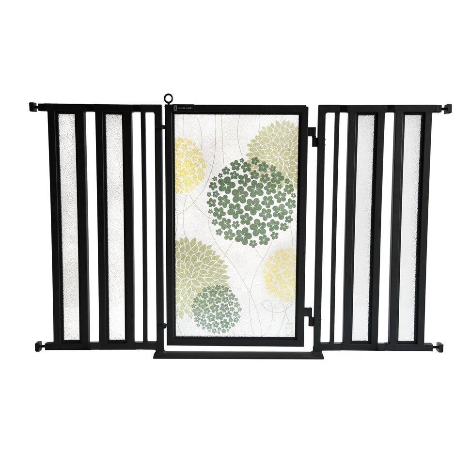 Fusiongates garden pet gate wayfair for Door to gate kontakt