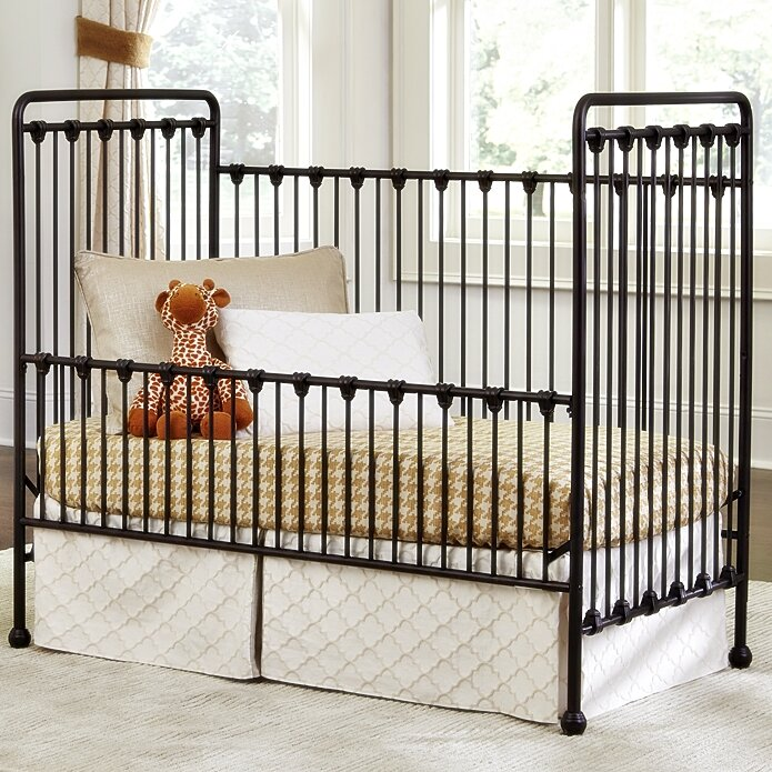 Baby 39 S Dream Furniture Inc Willa 2 In 1 Convertible Crib Reviews Wayfair