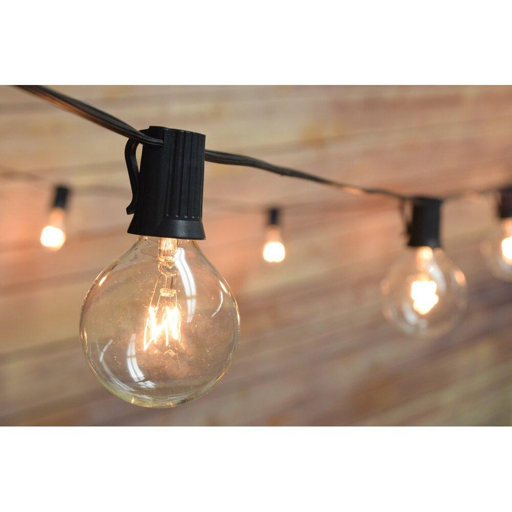 Globe String Lights 50 Ft : ThePaperLanternStore 50 Light 51 ft. Globe String Light & Reviews Wayfair.ca