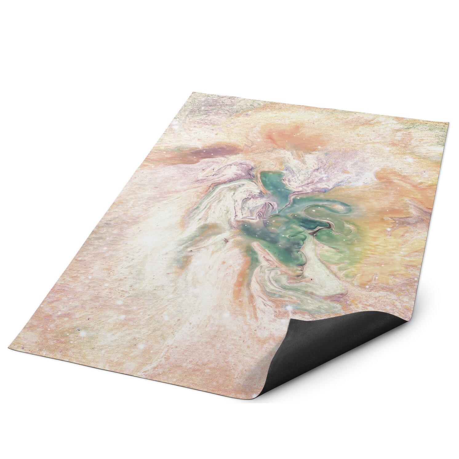 Kavka Marble Nebula Indoor Outdoor Floor Mat Wayfair