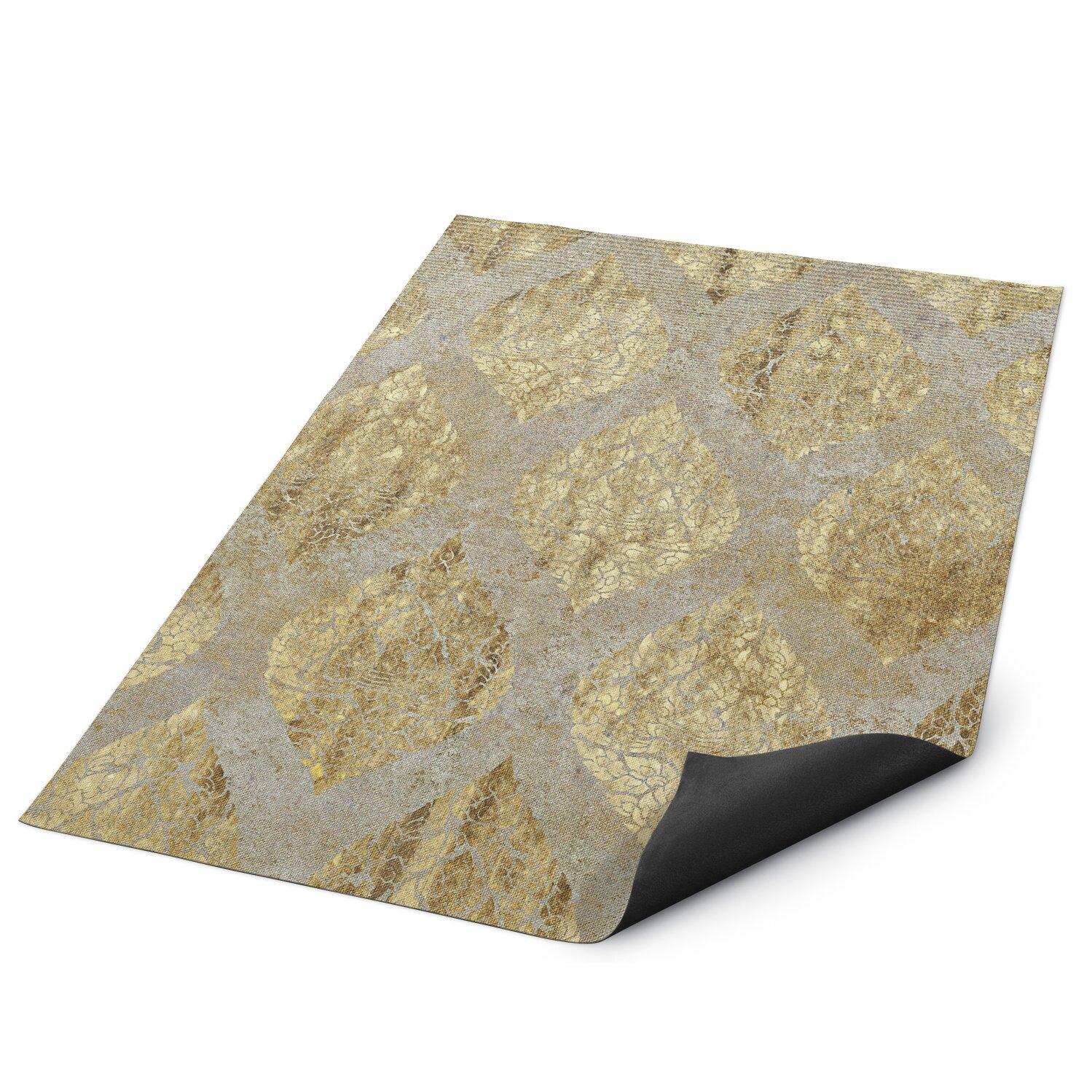 Kavka Ascent Beige Indoor Outdoor Floor Mat Wayfair