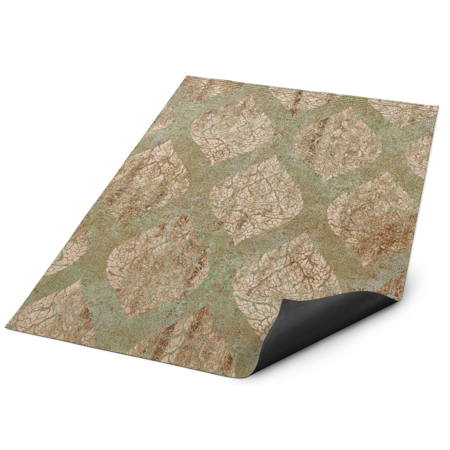 Kavka Ascent Brown Green Indoor Outdoor Floor Mat Wayfair
