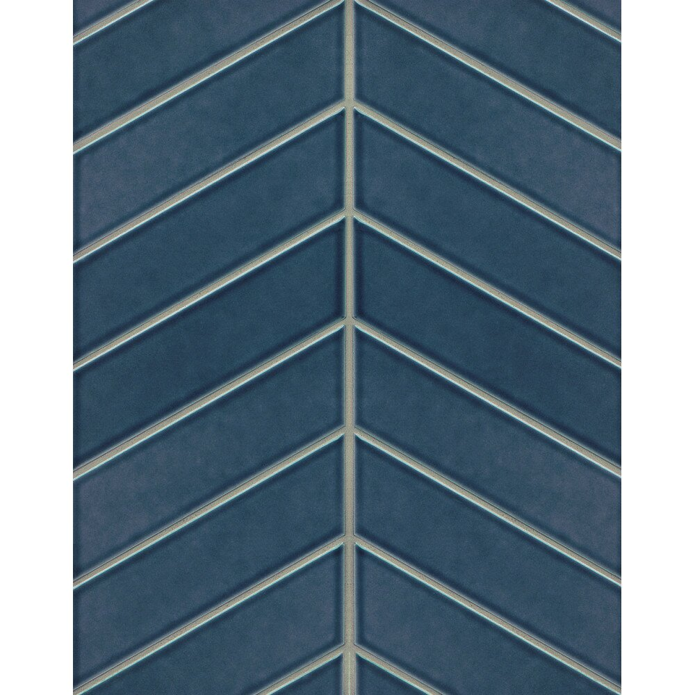 Gsmt Park Place Chevron 2 56 Quot X 9 Quot Porcelain Field Tile In