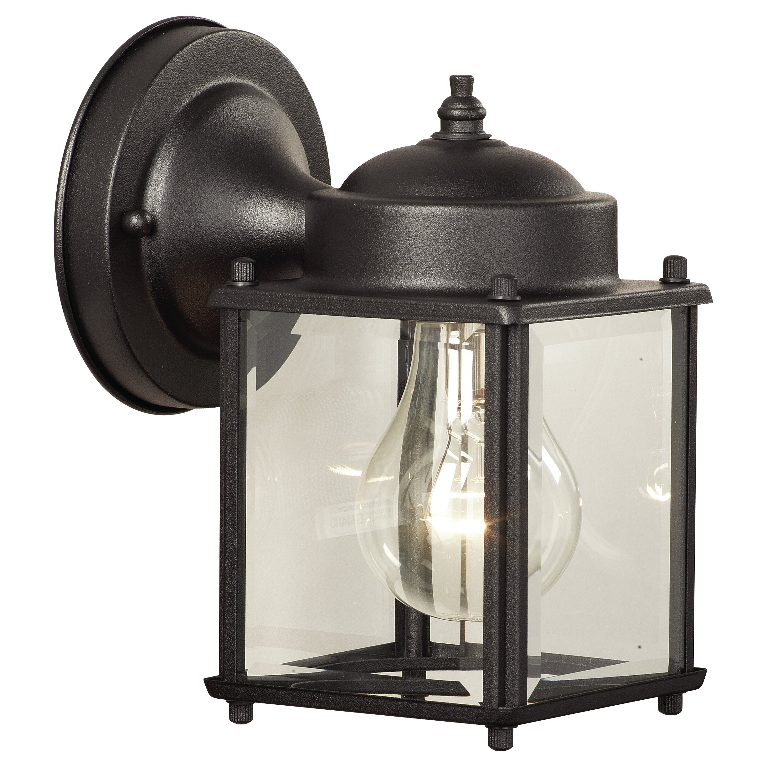 Wayfair External Wall Lights : Thomas Lighting 1 Light Outdoor Wall Lantern & Reviews Wayfair