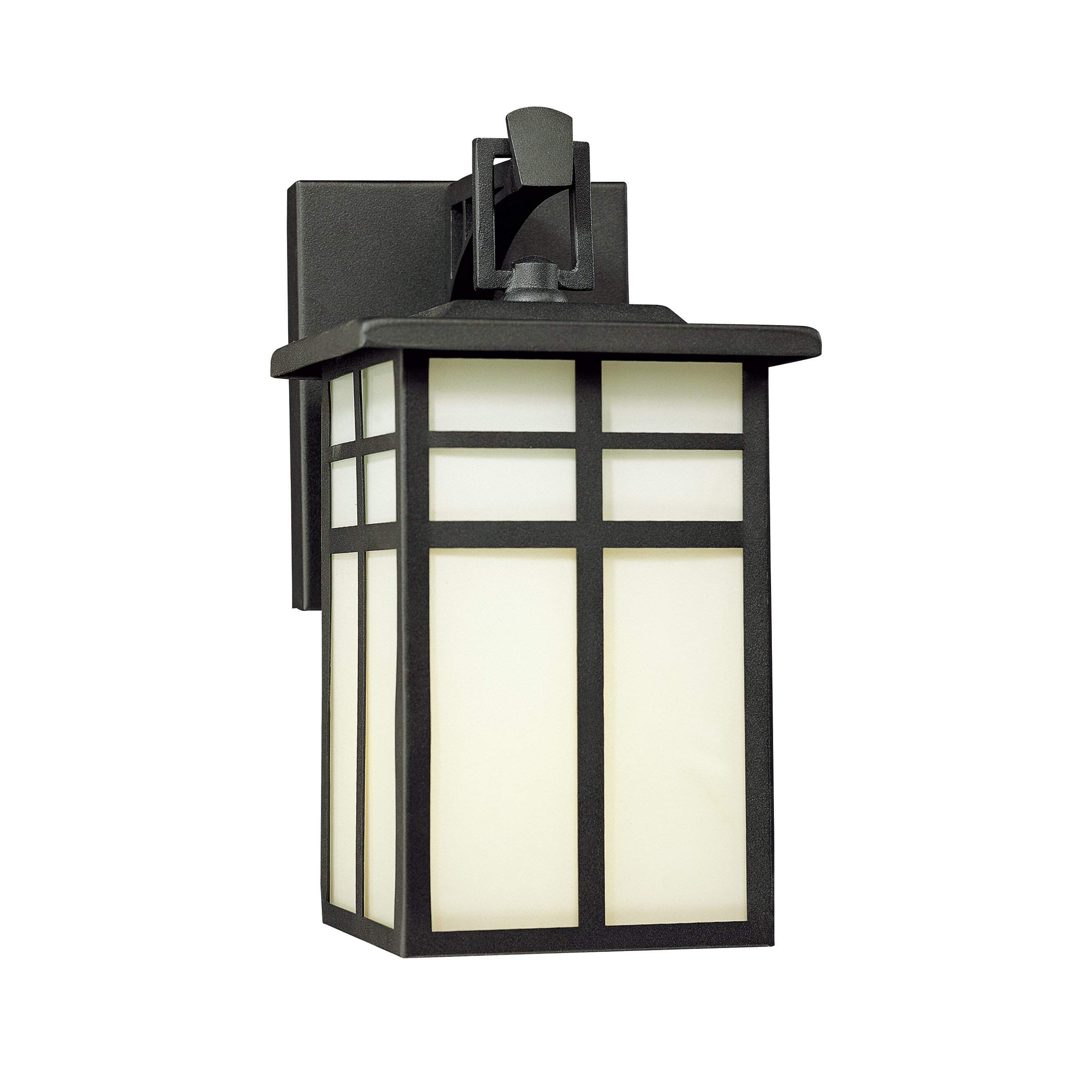 Wall Lantern External : Thomas Lighting Mission 1 Light Outdoor Wall Lantern & Reviews Wayfair