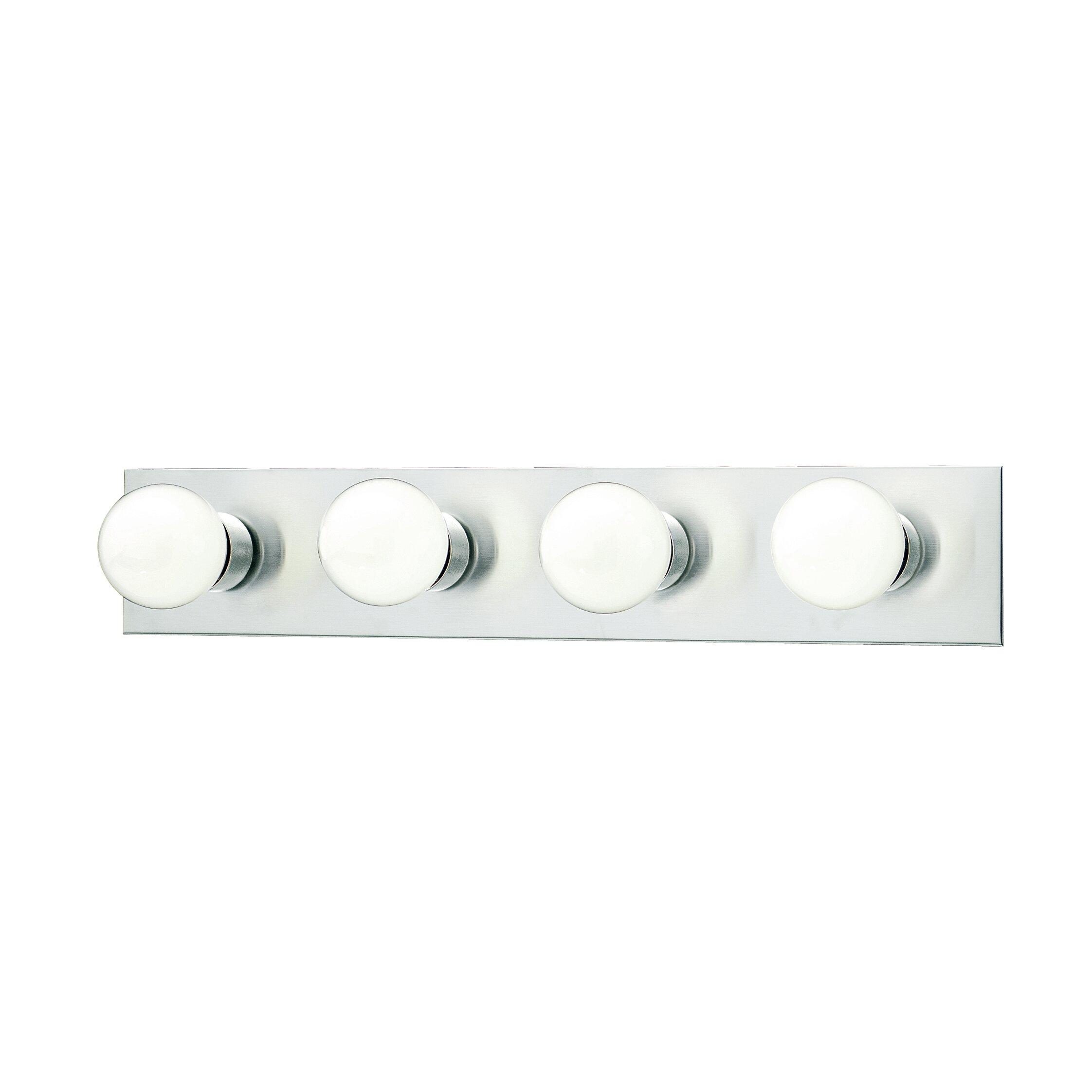 Vanity Lights Strip : Thomas Lighting Vanity Strips 4 Light Vanity Light & Reviews Wayfair
