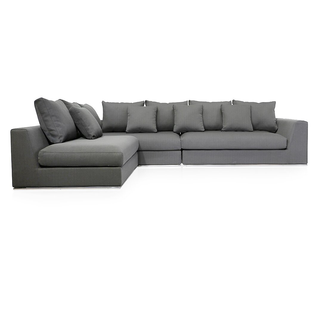 Urbanmod urbanmod living reversible sectional reviews for Wayfair sectionals