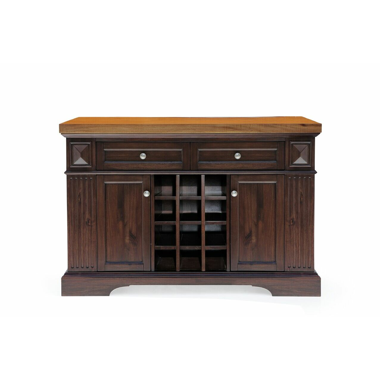 222 Fifth Furniture Greenwich Kitchen Island With Wood Top Wayfair