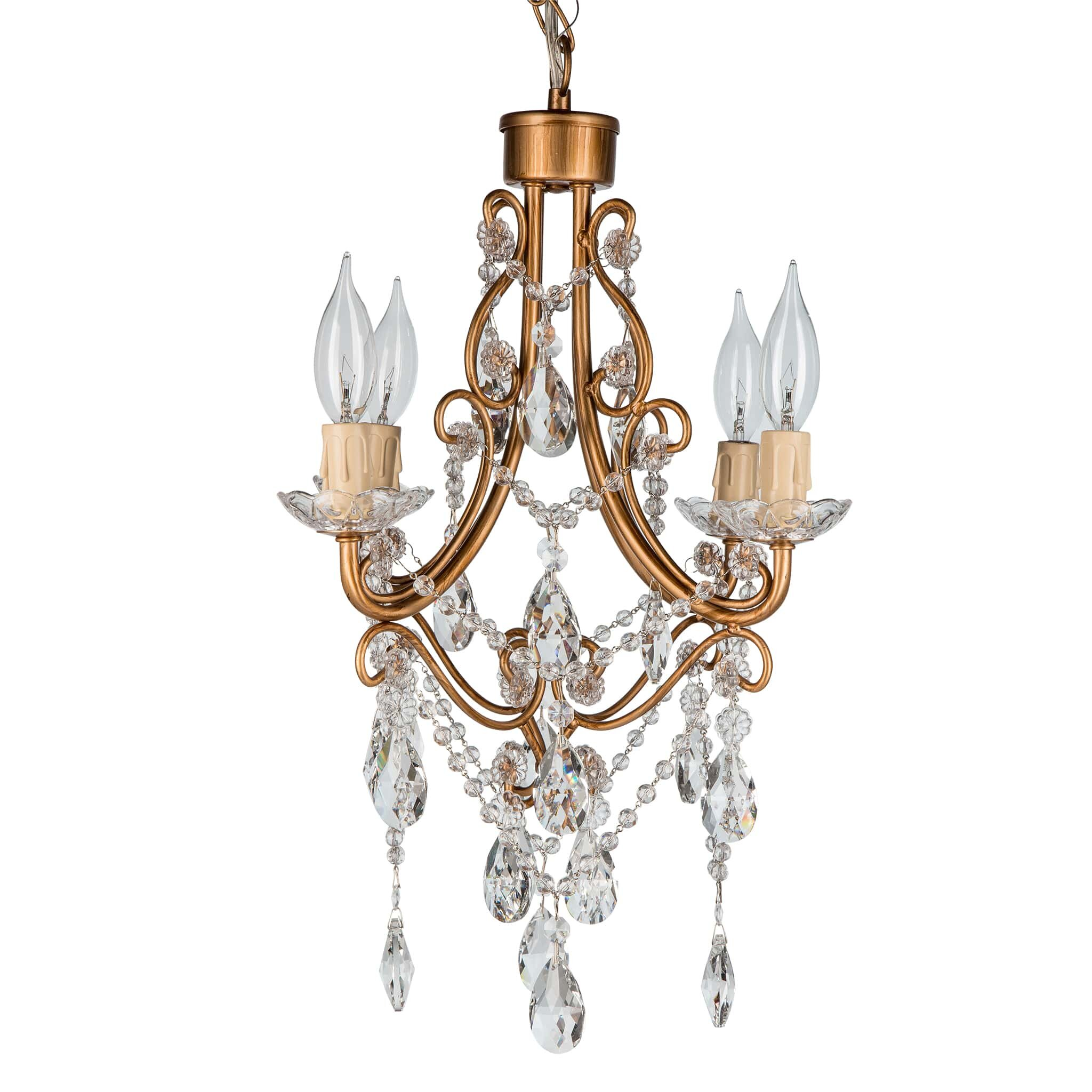 Wayfair Chandelier: AmalfiDecor Madeline 4 Light Crystal Chandelier Chandelier