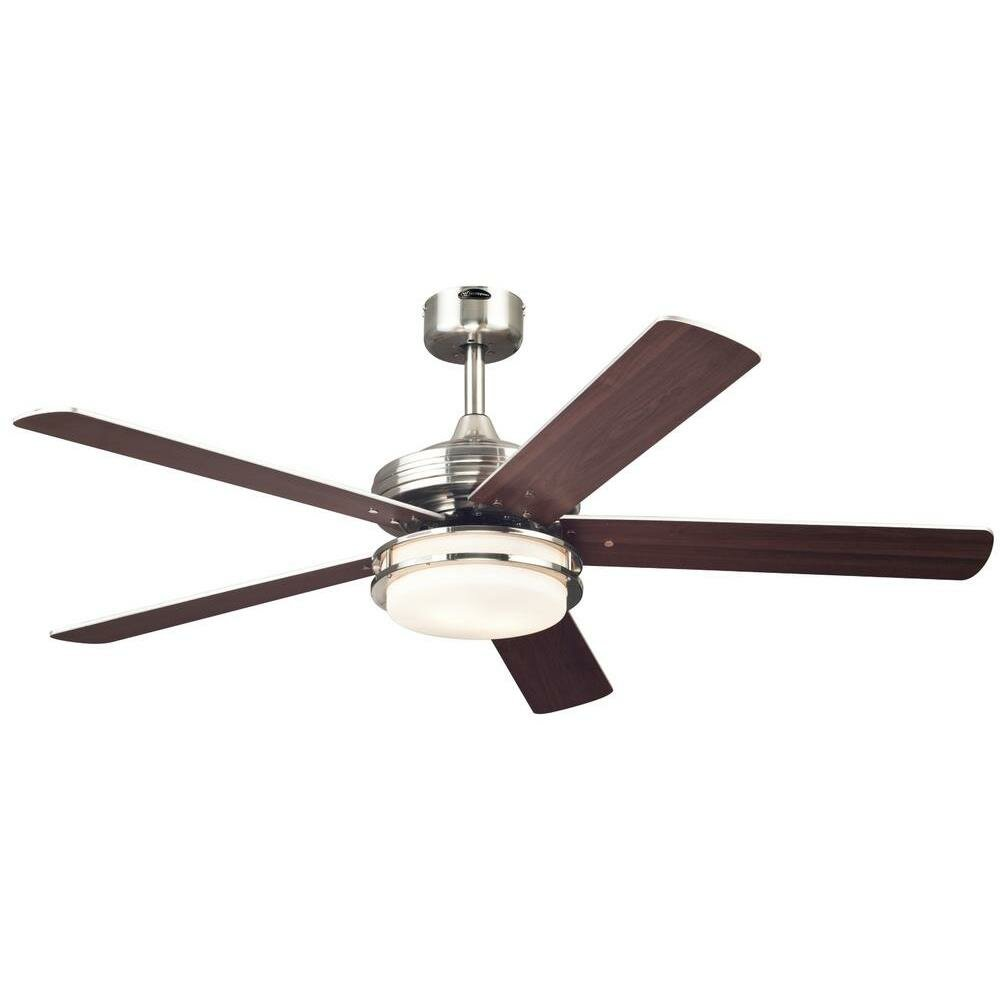 Westinghouse lighting 52 castle 5 reversible blade ceiling fan reviews wayfair - Westinghouse and living ...