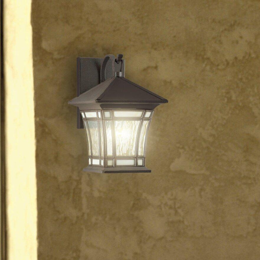 Westinghouse Lighting Riverbend 1 Light Outdoor Wall Lantern Reviews Wayfair
