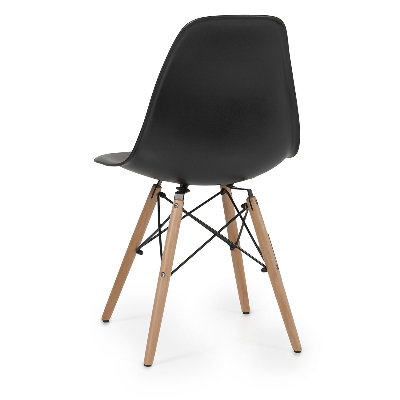 belleze dowel eames side chair. Black Bedroom Furniture Sets. Home Design Ideas