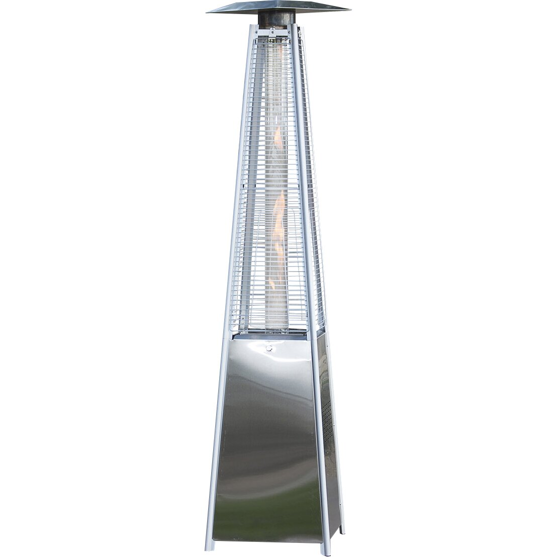 belleze deluxe pyramid propane patio heater wayfair