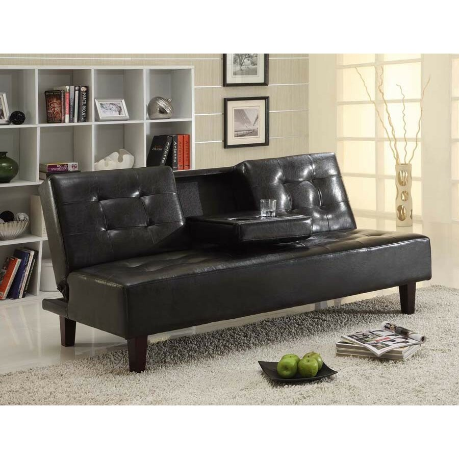 titus furniture klick klack sleeper sofa. Black Bedroom Furniture Sets. Home Design Ideas
