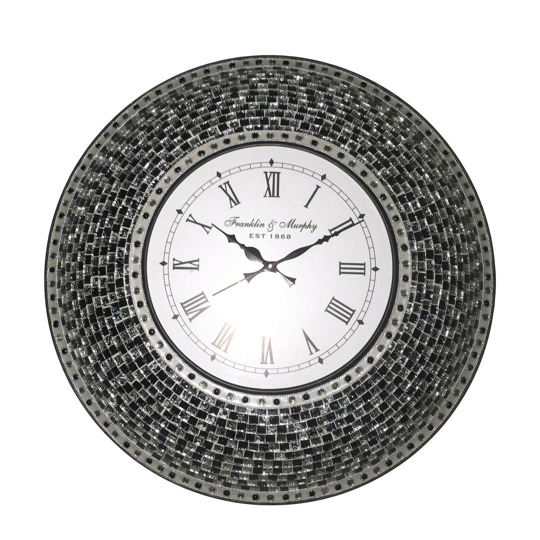 "DecorShore Signature 22.5"" Silent Wall Clock | Wayfair |Silent Wall Clock"