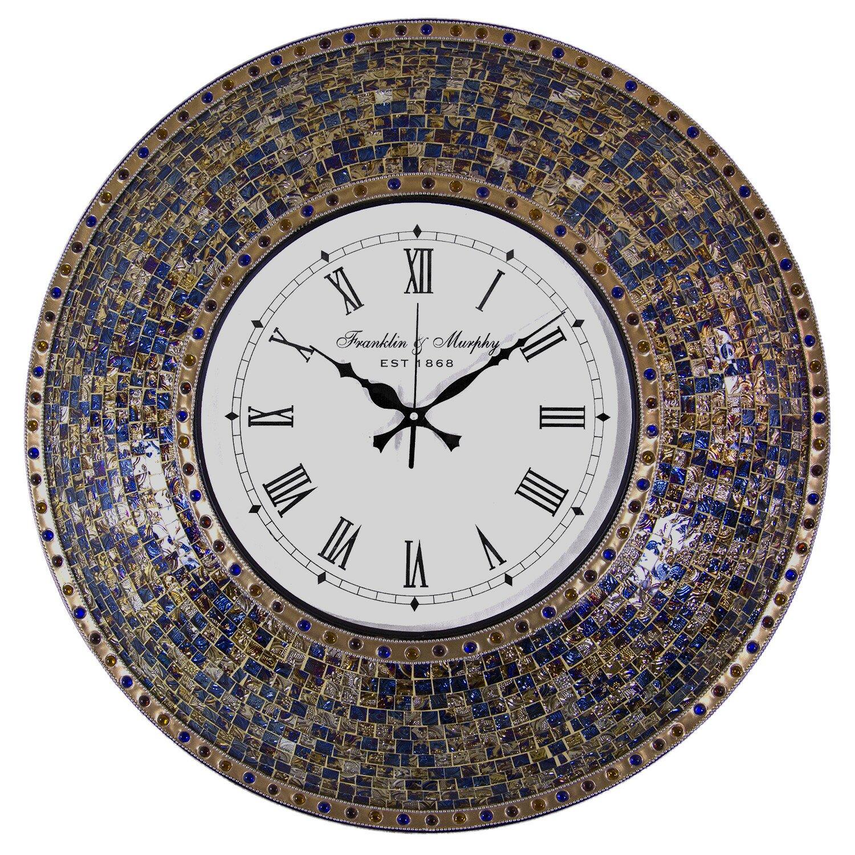 HIPPIH Silent Wall Clock - 9 Inch Non Ticking Digital ... |Silent Wall Clock