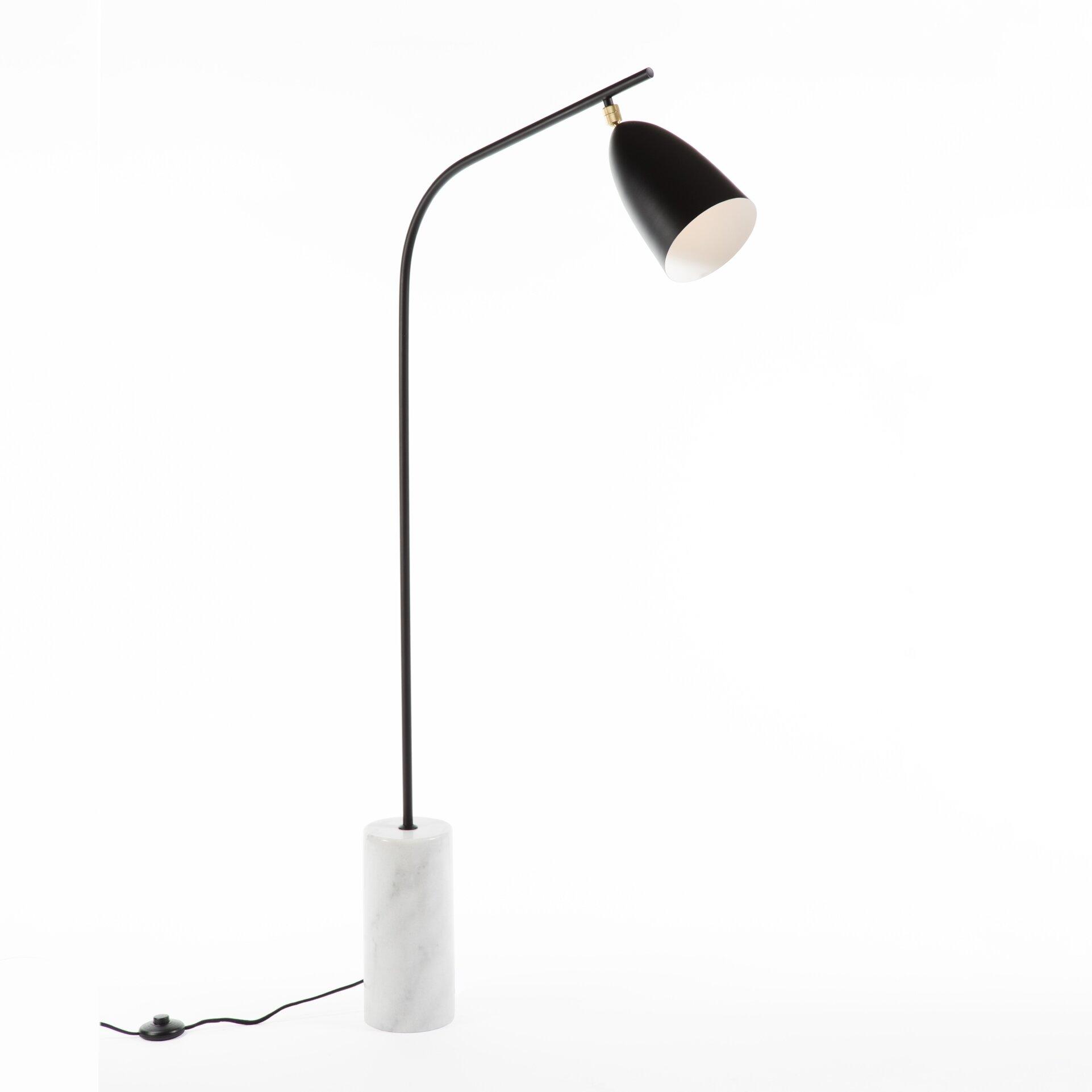 Galla home loren 59quot led task floor lamp wayfair for Pizzazz led floor lamp