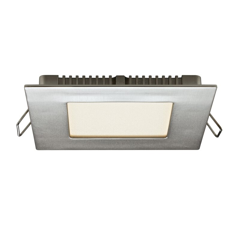 DALSLighting Square Panel LED Recessed Lighting Kit Wayfair