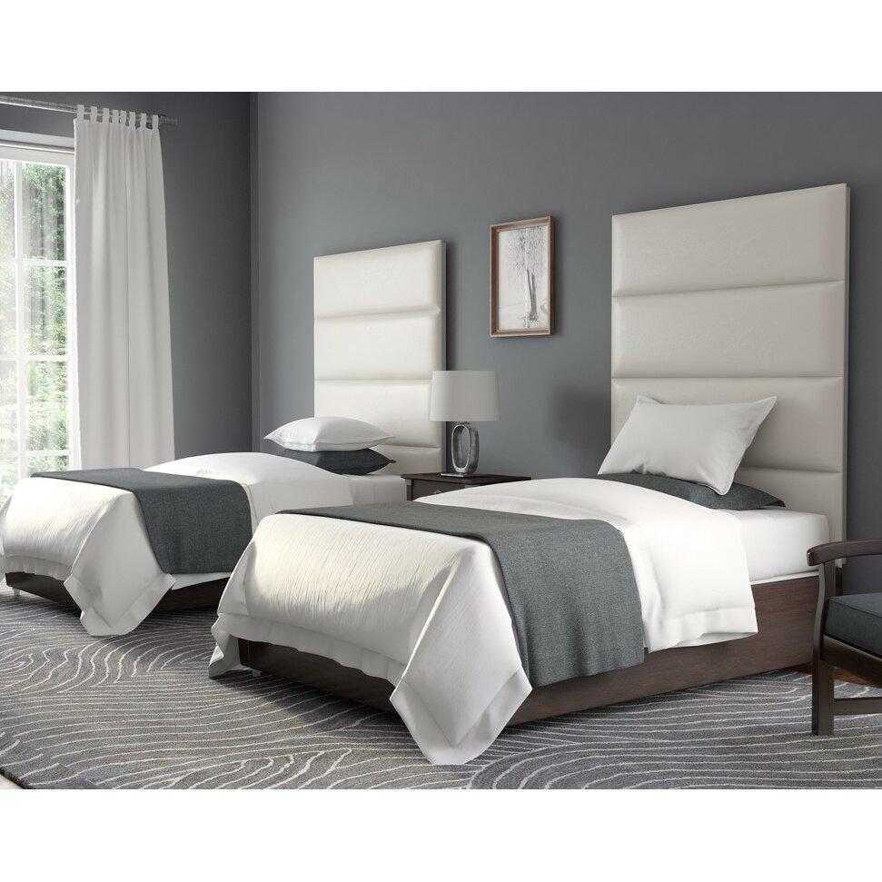 Vant Panels Upholstered Headboard Panels Amp Reviews Wayfair