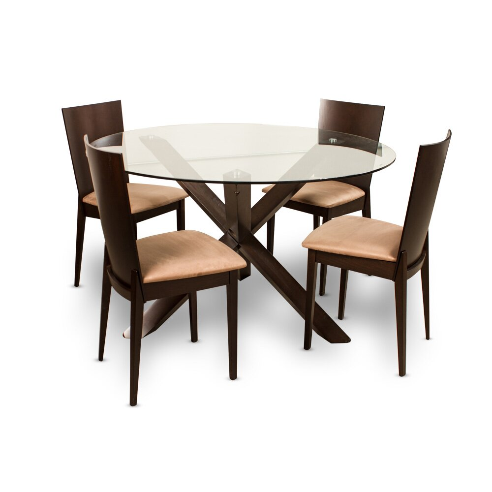 Wholesale Furniture Imports Milan 5 Piece Dining Set Wayfair