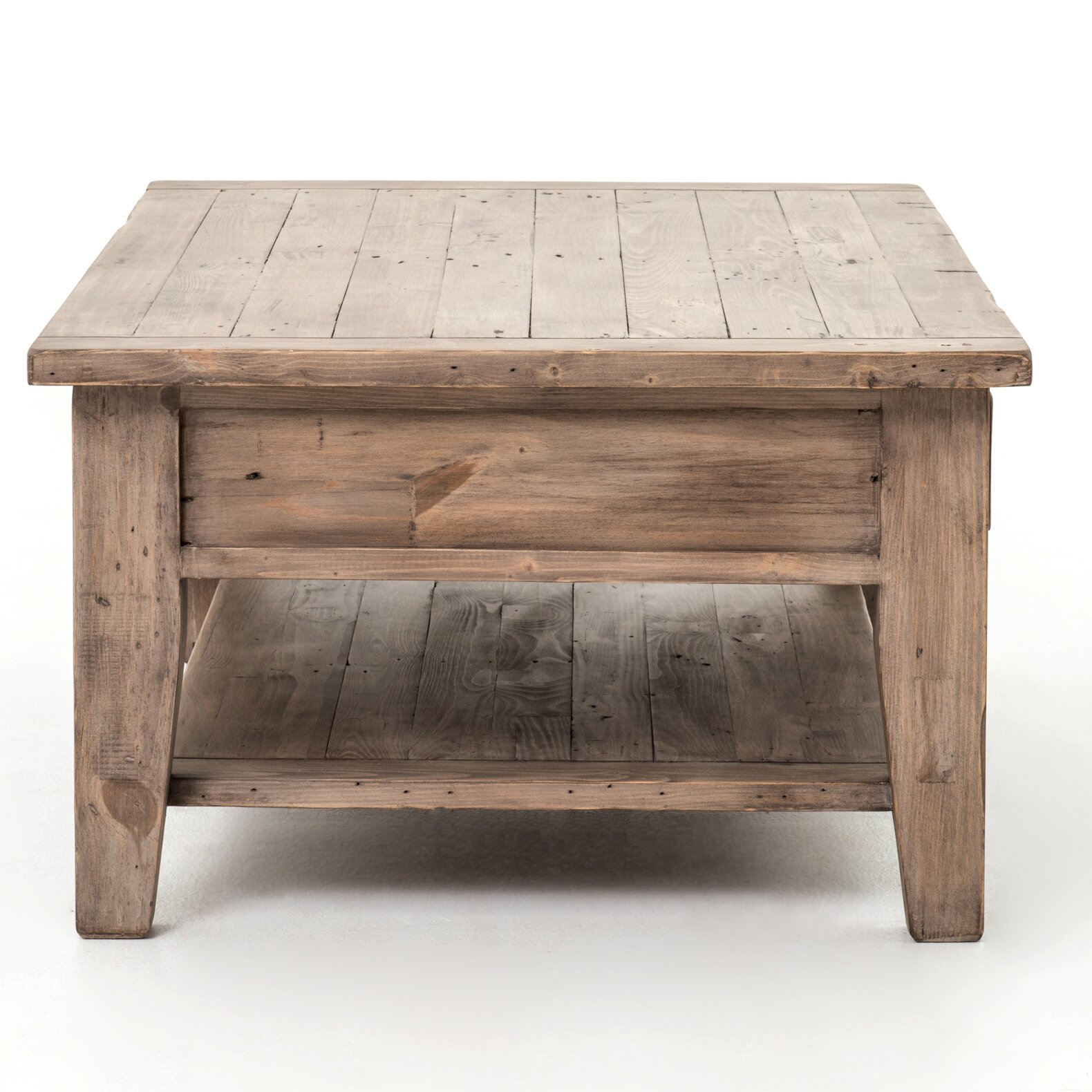 Laurel foundry modern farmhouse abbot coffee table for Modern farmhouse coffee table