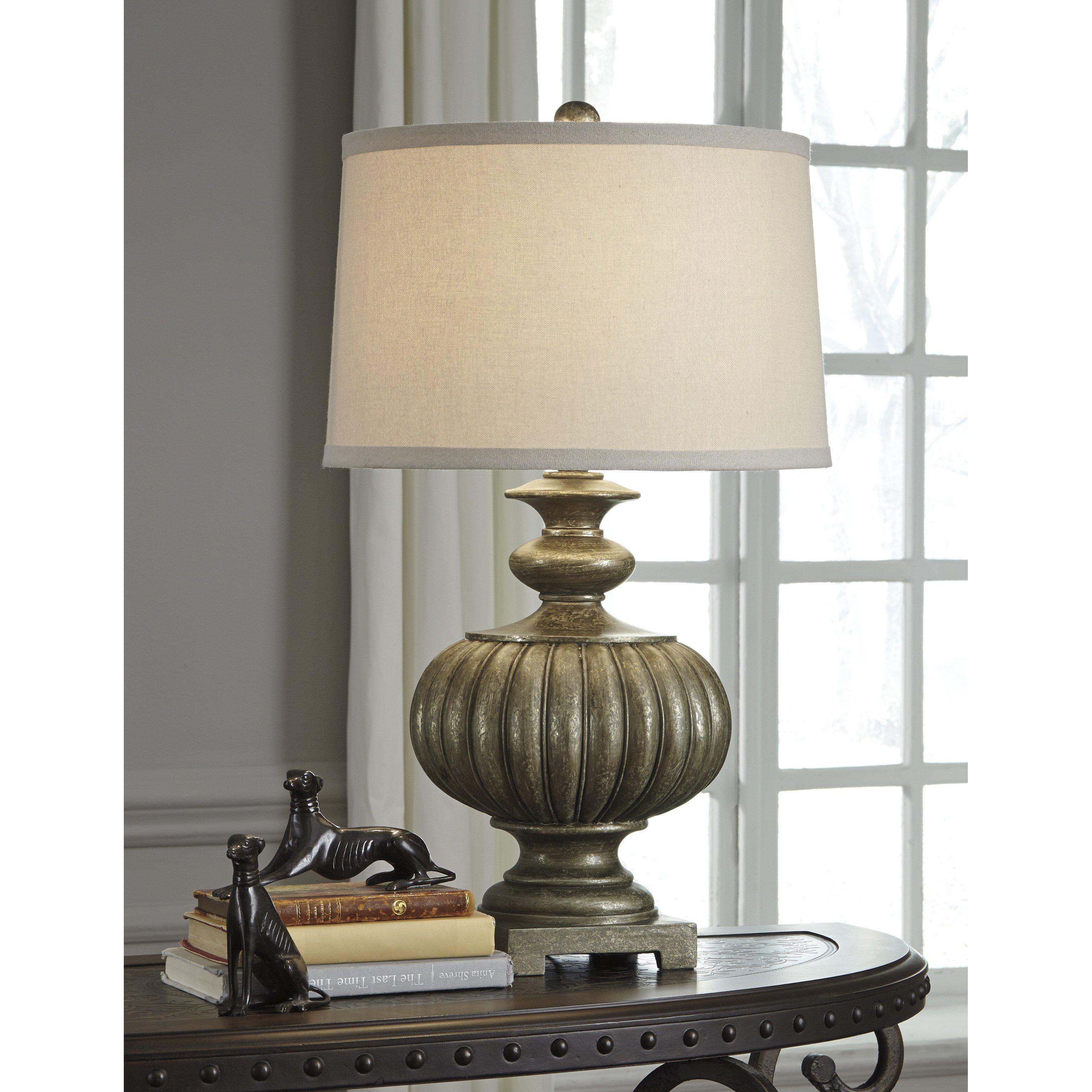 "Laurel Foundry Modern Farmhouse Blancheville 28 5"" Table Lamp & Revi"