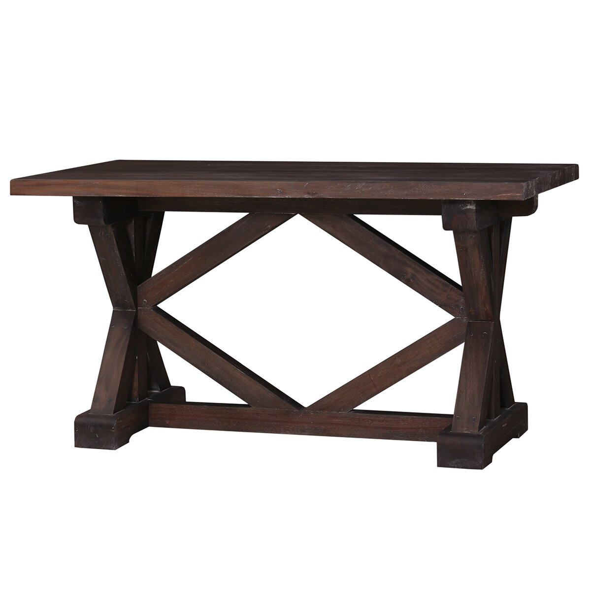 Counter Height Modern Dining Table : ... Foundry Modern Farmhouse Adhemar Counter Height Dining Table Wayfair