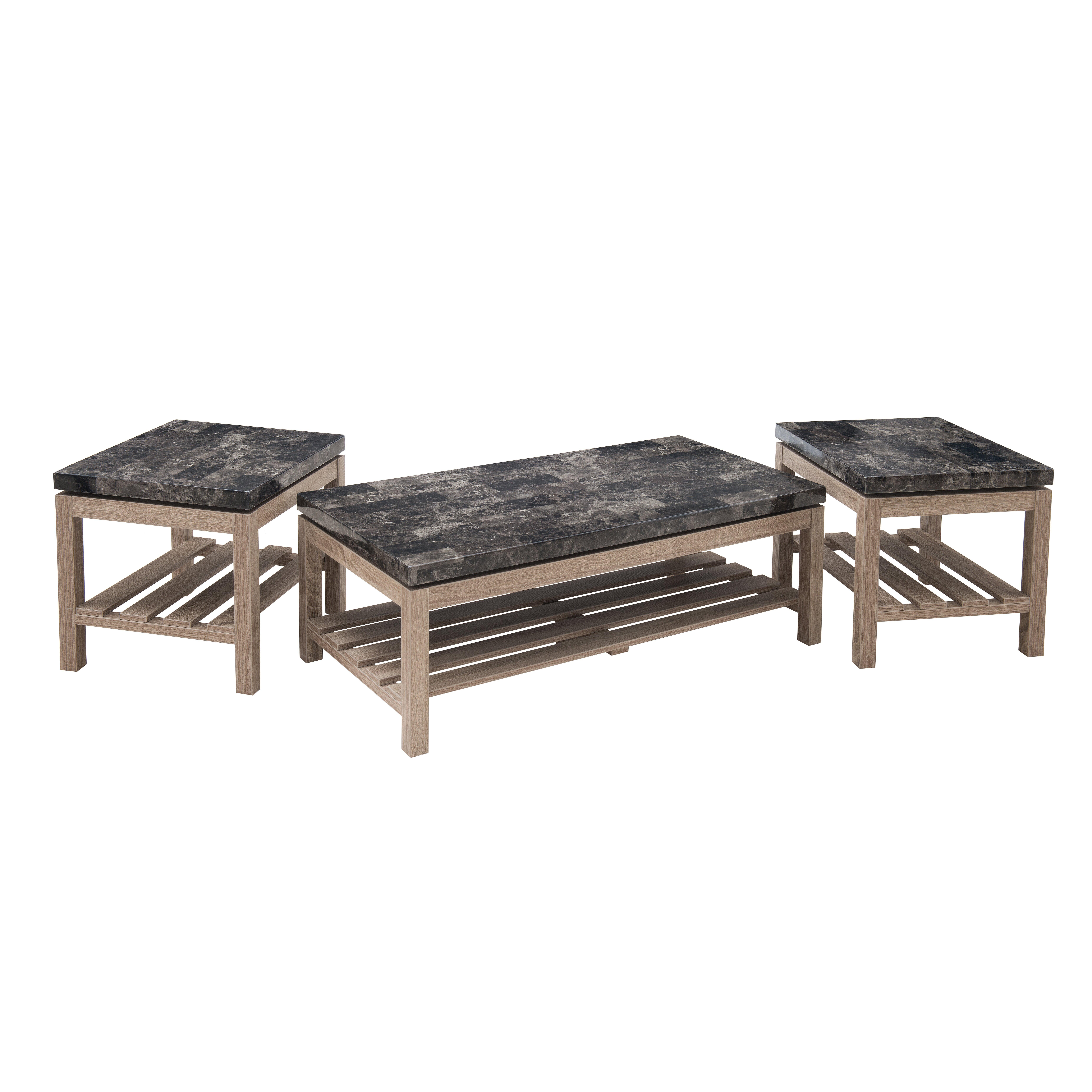 Laurel Foundry Modern Farmhouse Ambroise Coffee Table Set