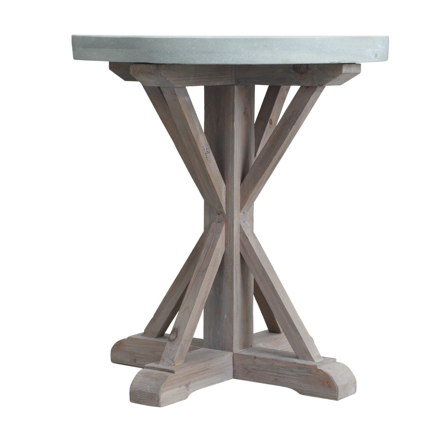 Laurel foundry modern farmhouse andillac end table wayfair for Farmhouse end table set