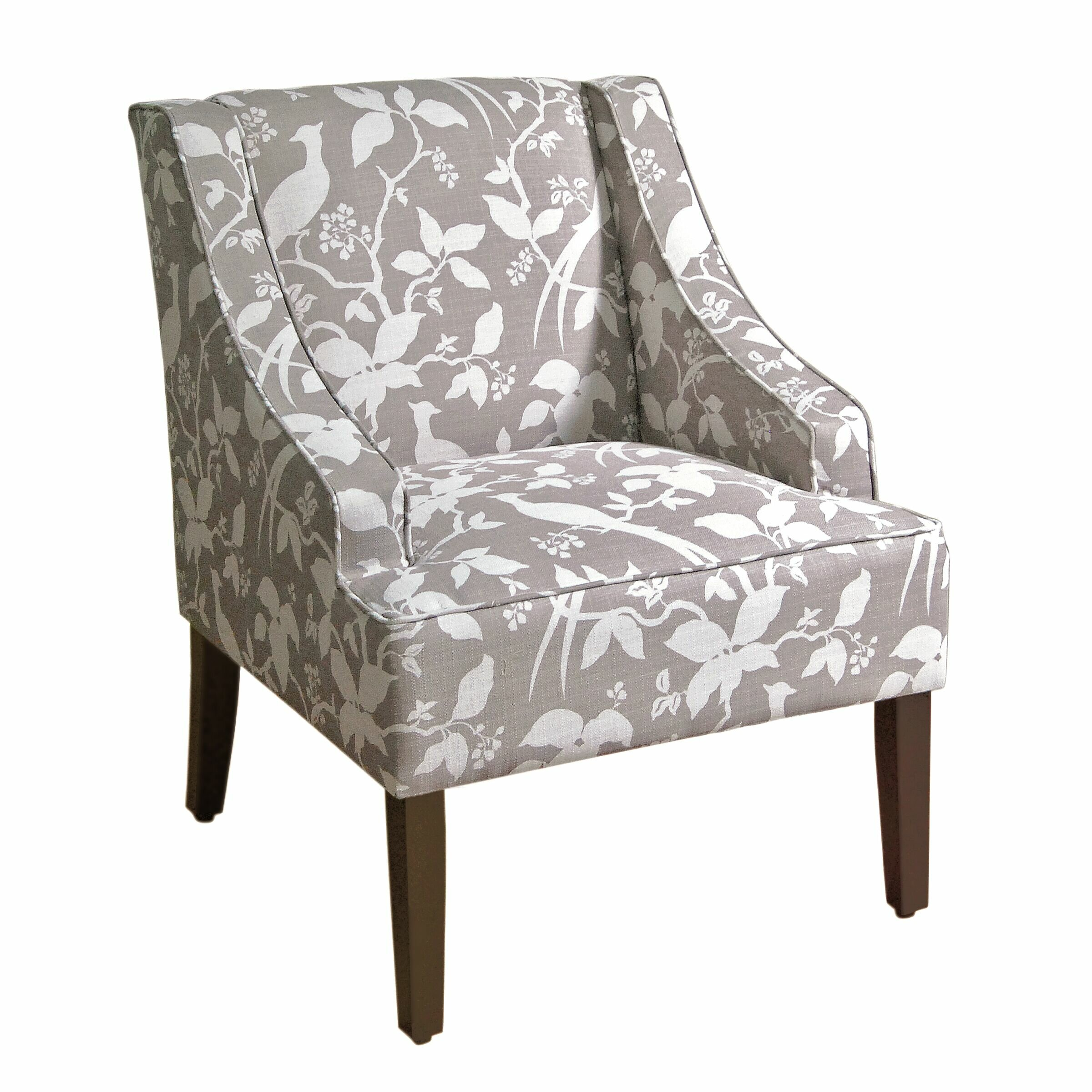 Laurel foundry modern farmhouse annette accent arm chair for Modern farmhouse dining chairs