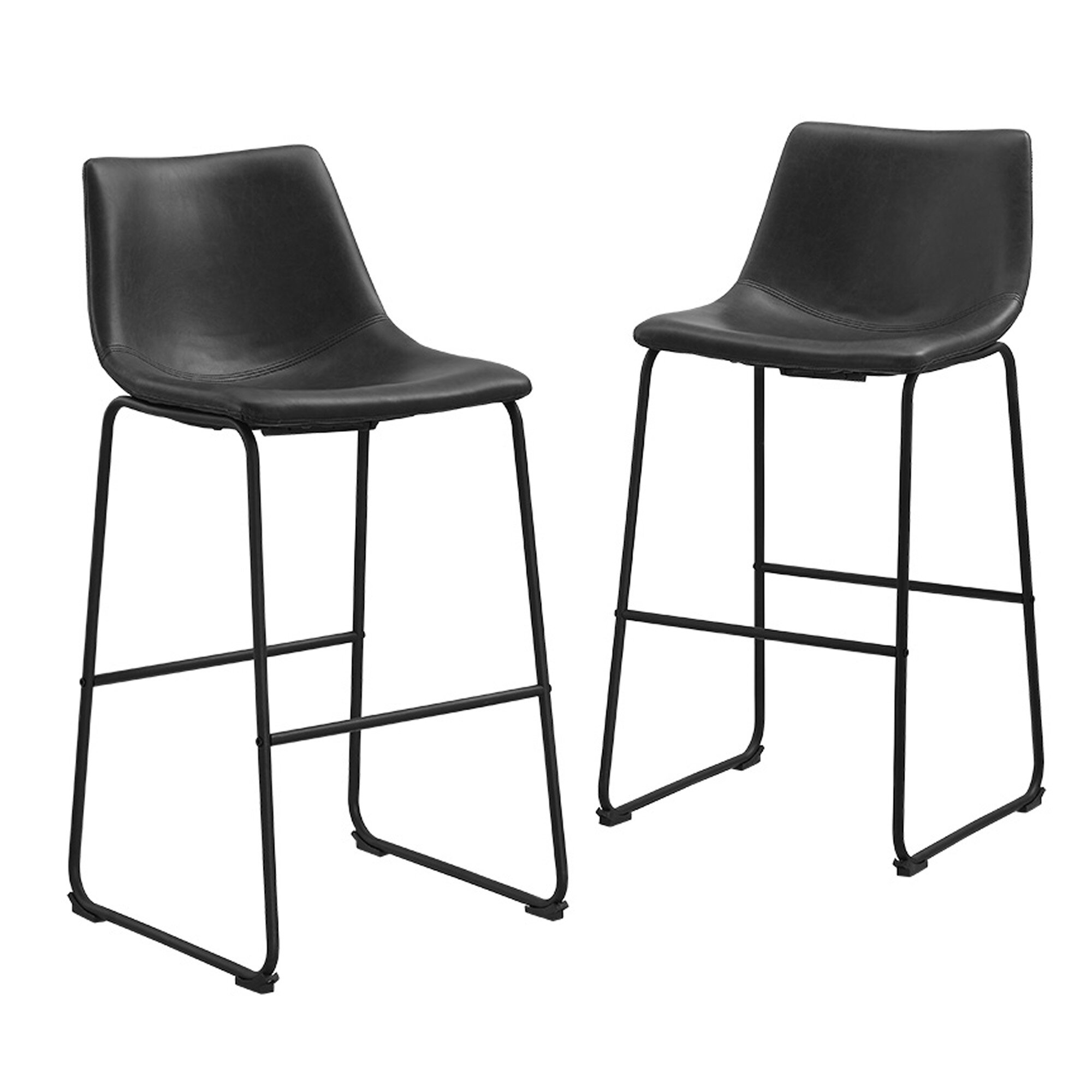 "Contemporary Furniture And Stools: Laurel Foundry Modern Farmhouse Ashley 30"" Bar Stool"