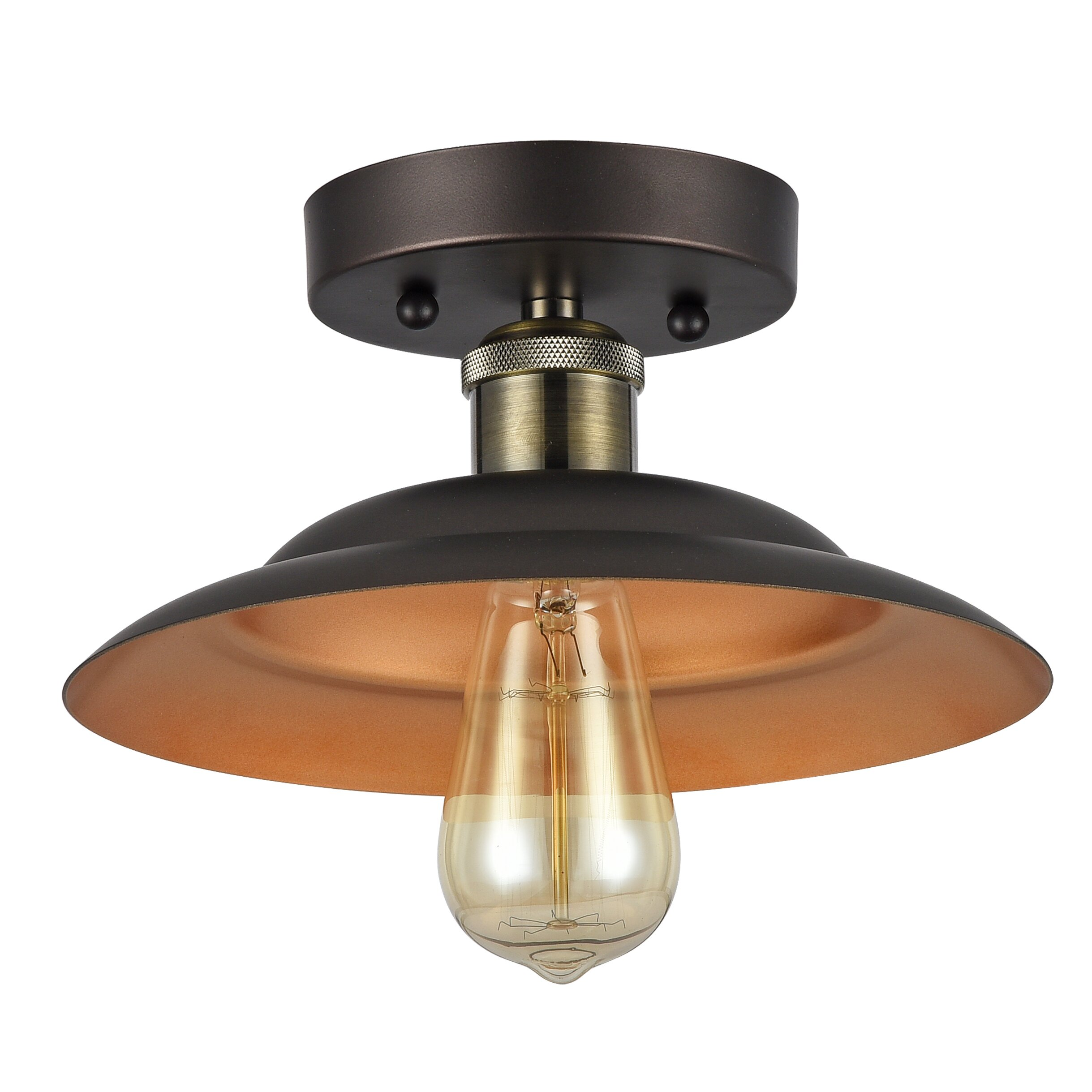SemiFlushMount Lights Modern Traditional at