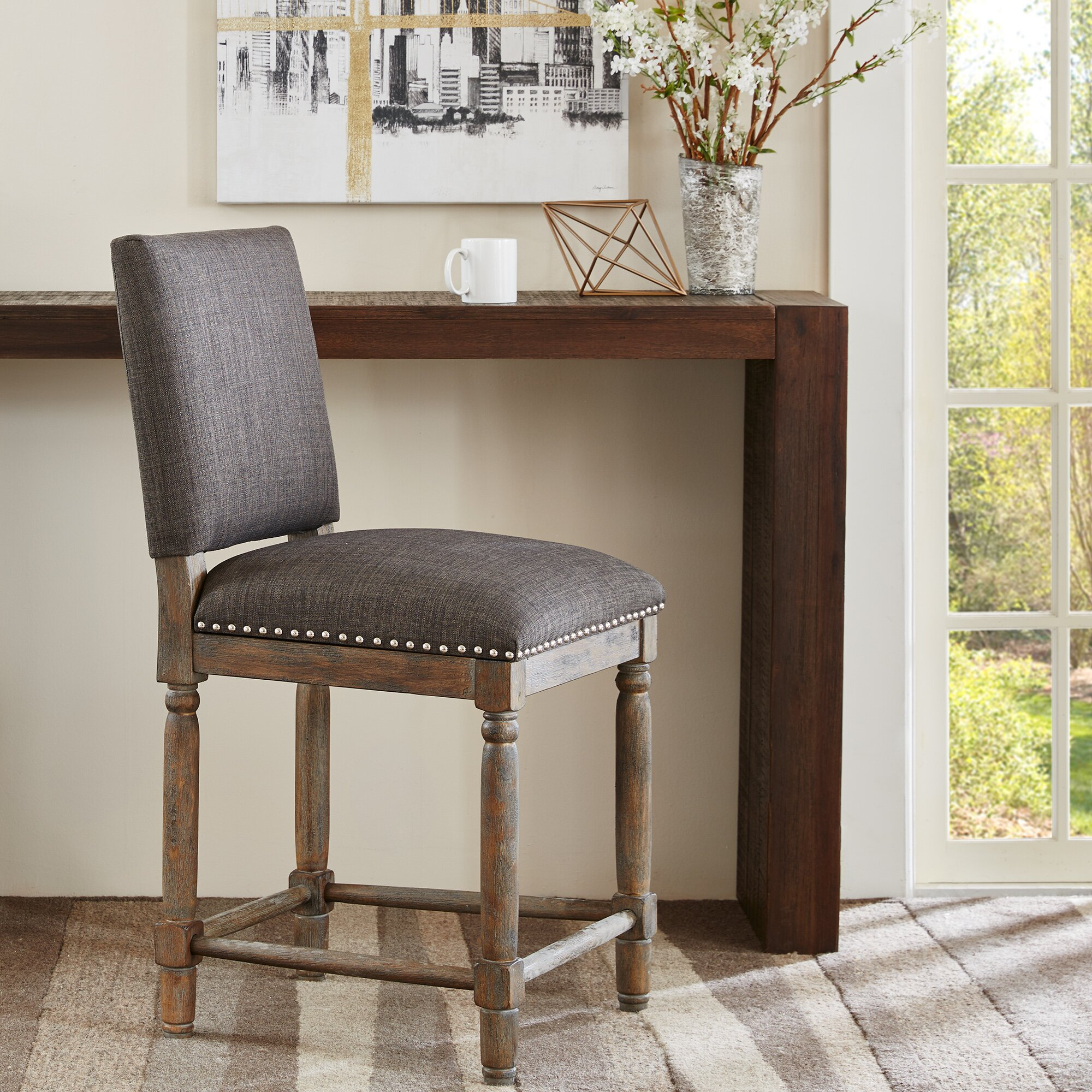 Laurel Foundry Modern Farmhouse Remy 24 Quot Bar Stool
