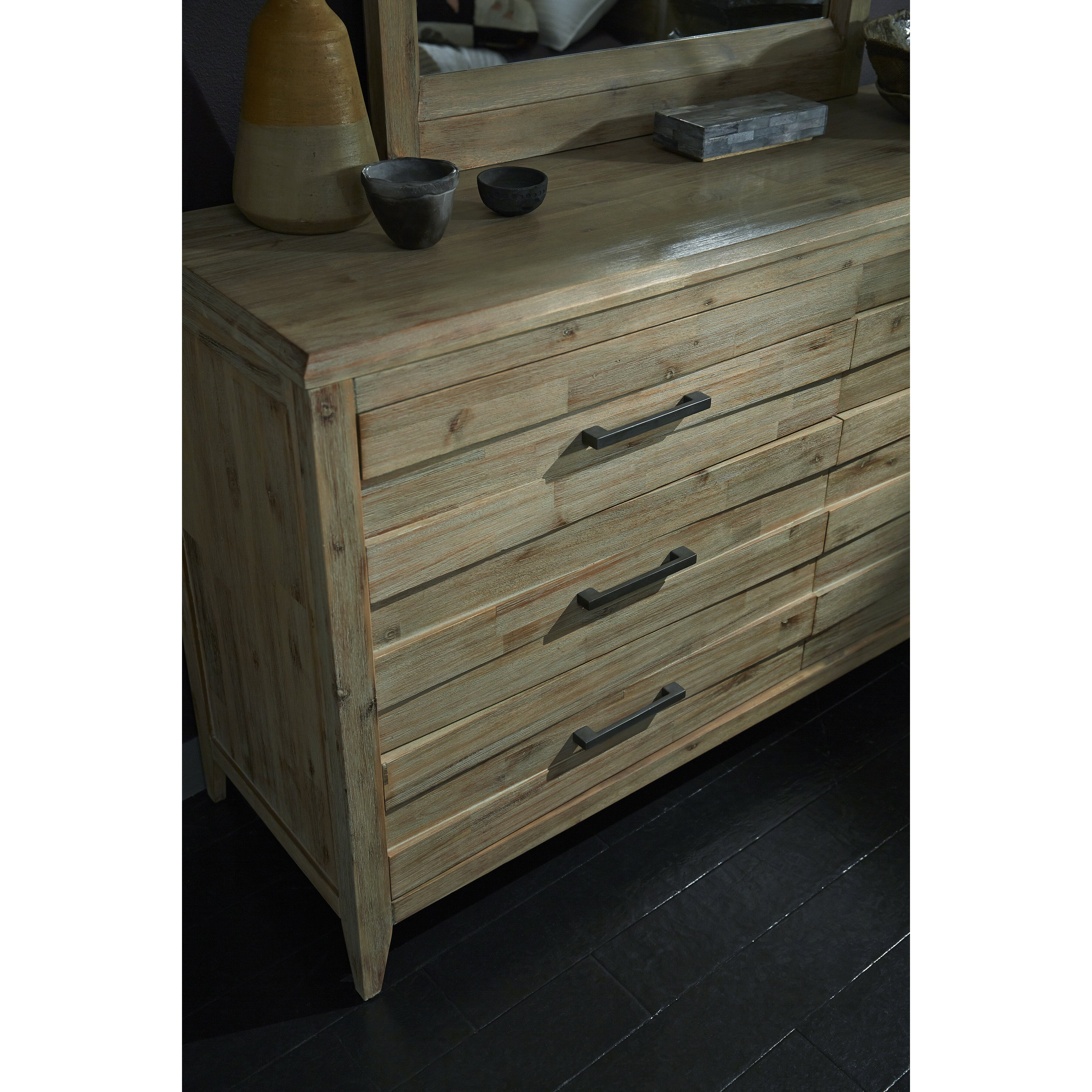 Laurel Foundry Modern Farmhouse Descartes 6 Drawer Dresser Reviews Wayfair