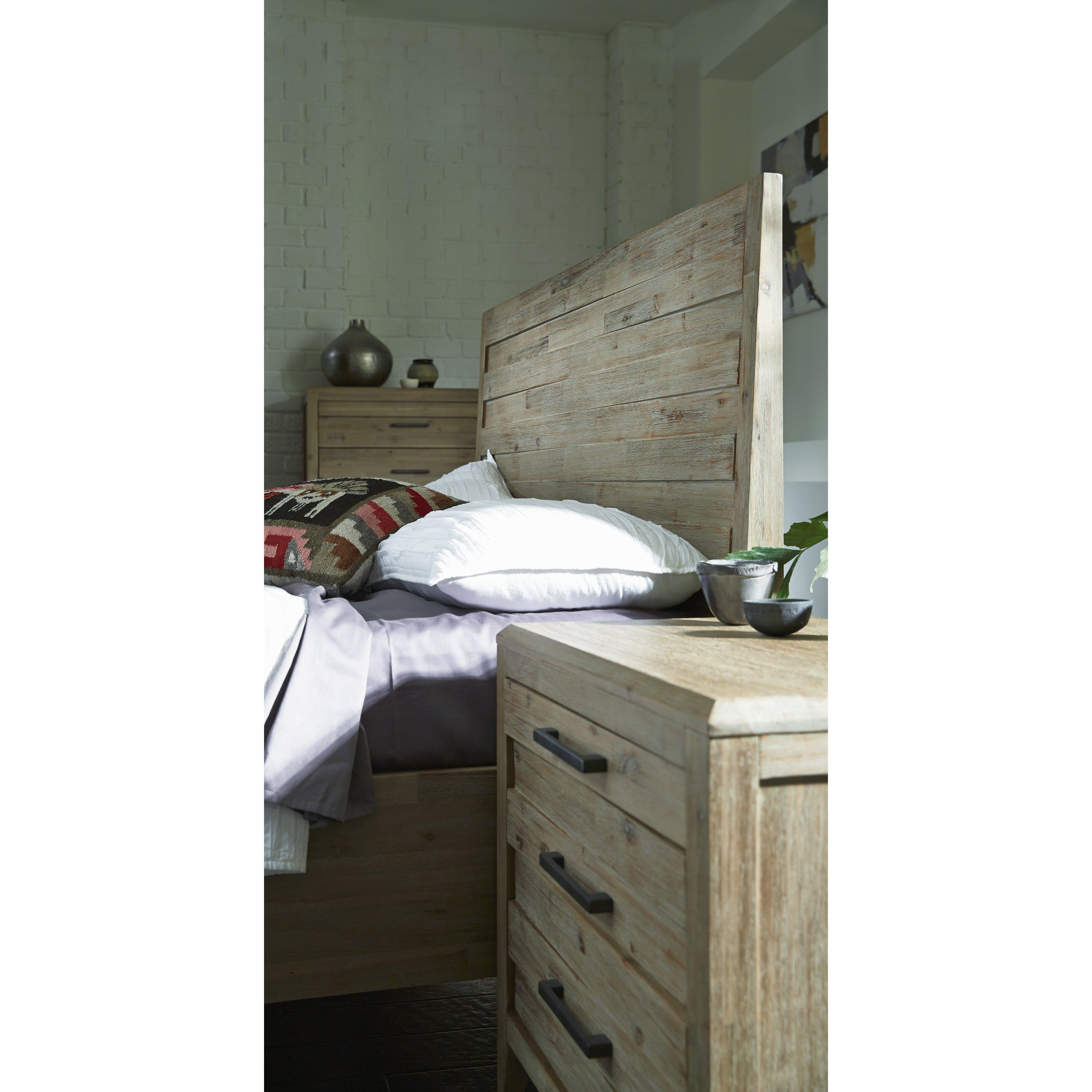 Laurel foundry modern farmhouse boston 3 drawer nightstand - Laurel foundry modern farmhouse bedroom ...