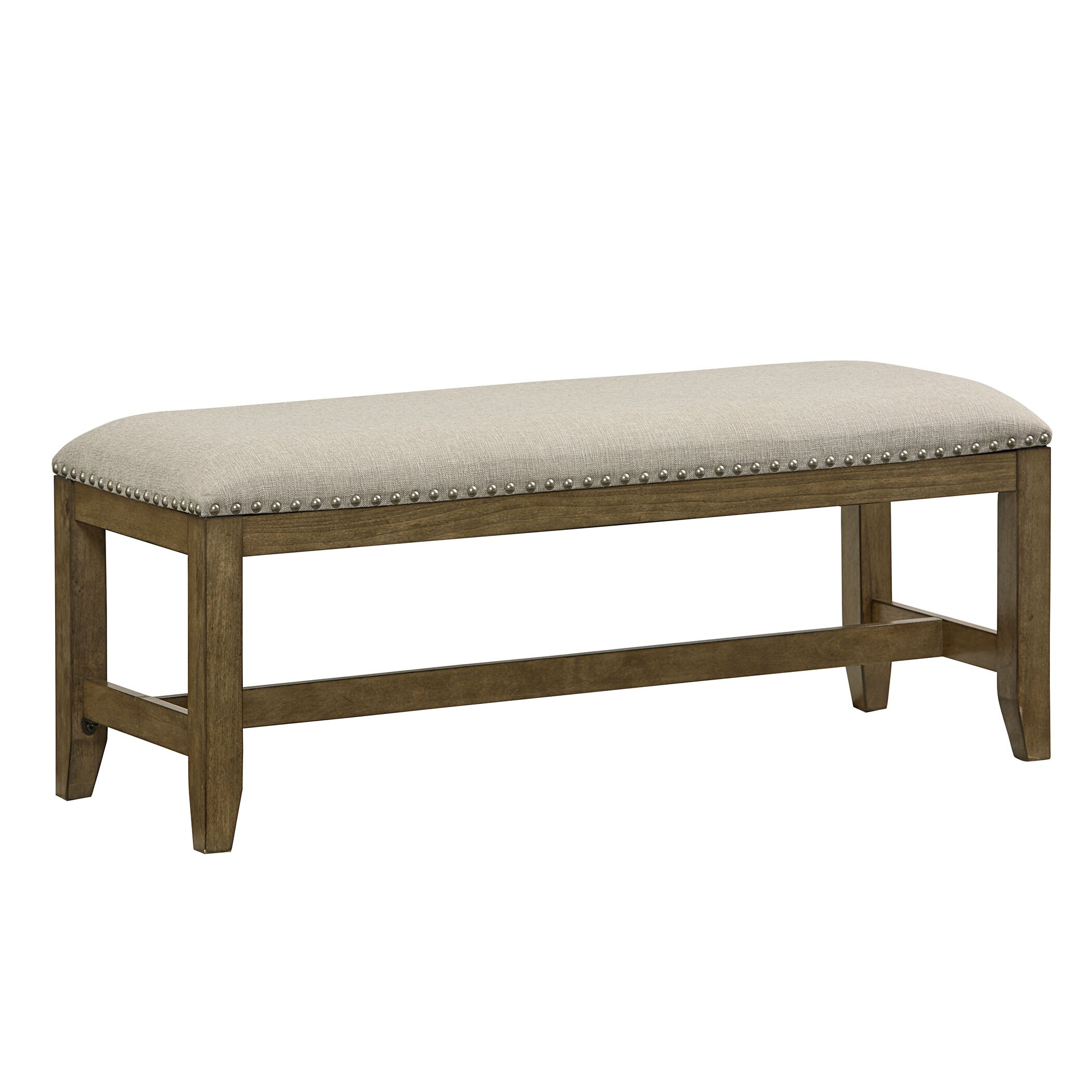 Laurel Foundry Modern Farmhouse Aubrie Upholstered Kitchen Bench Reviews