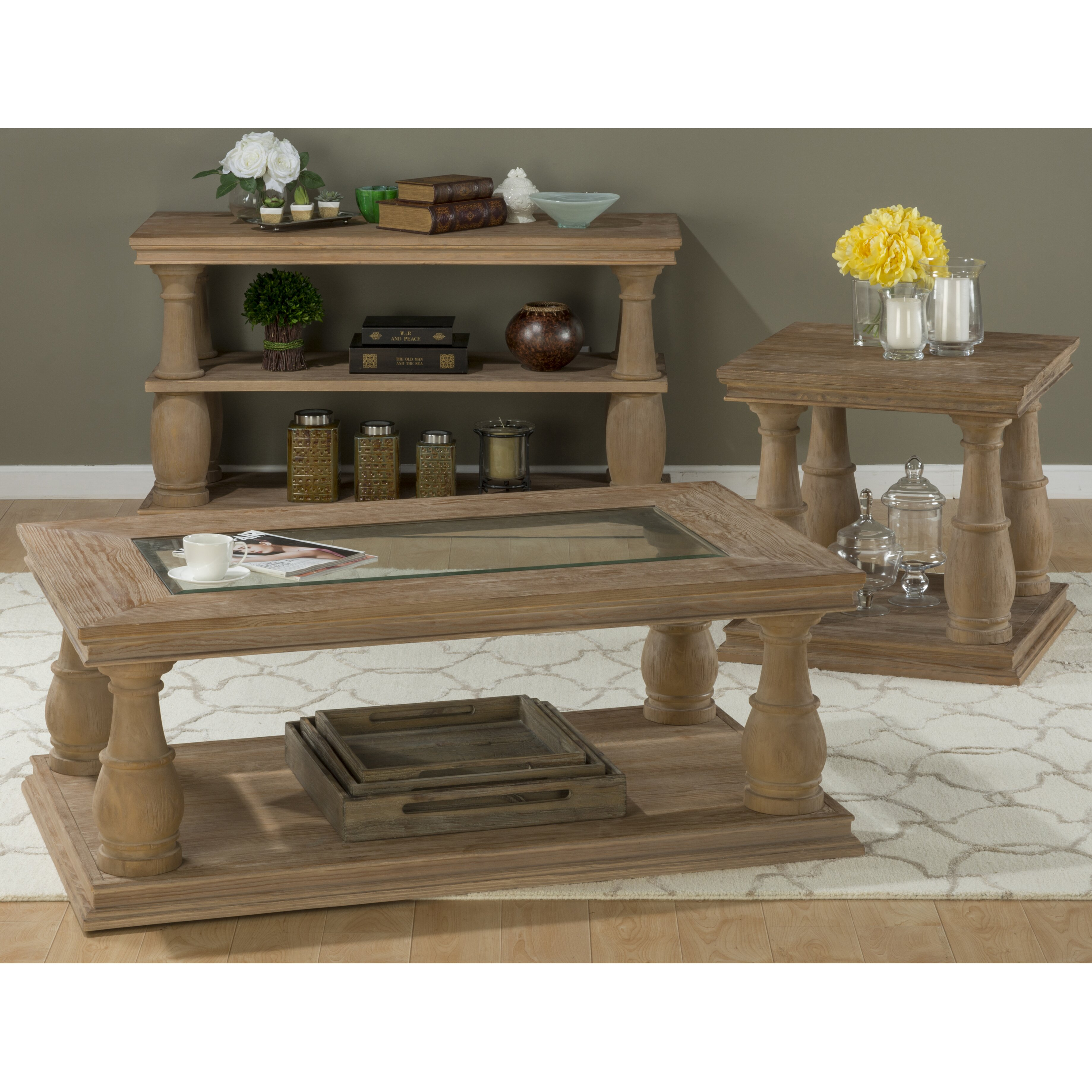 Laurel Foundry Modern Farmhouse Olivia Sofa Table