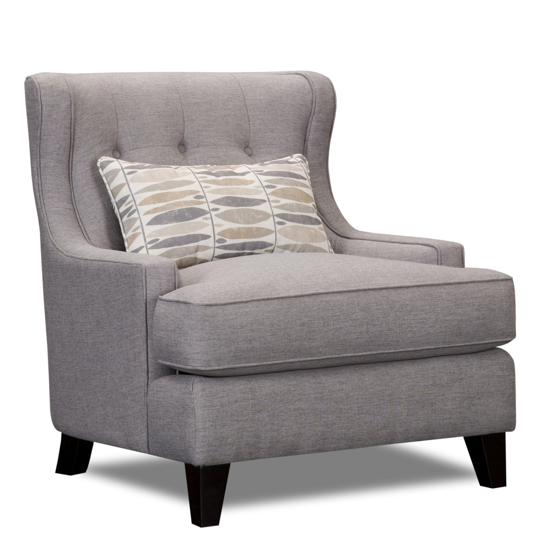 Laurel foundry modern farmhouse carson wingback armchair
