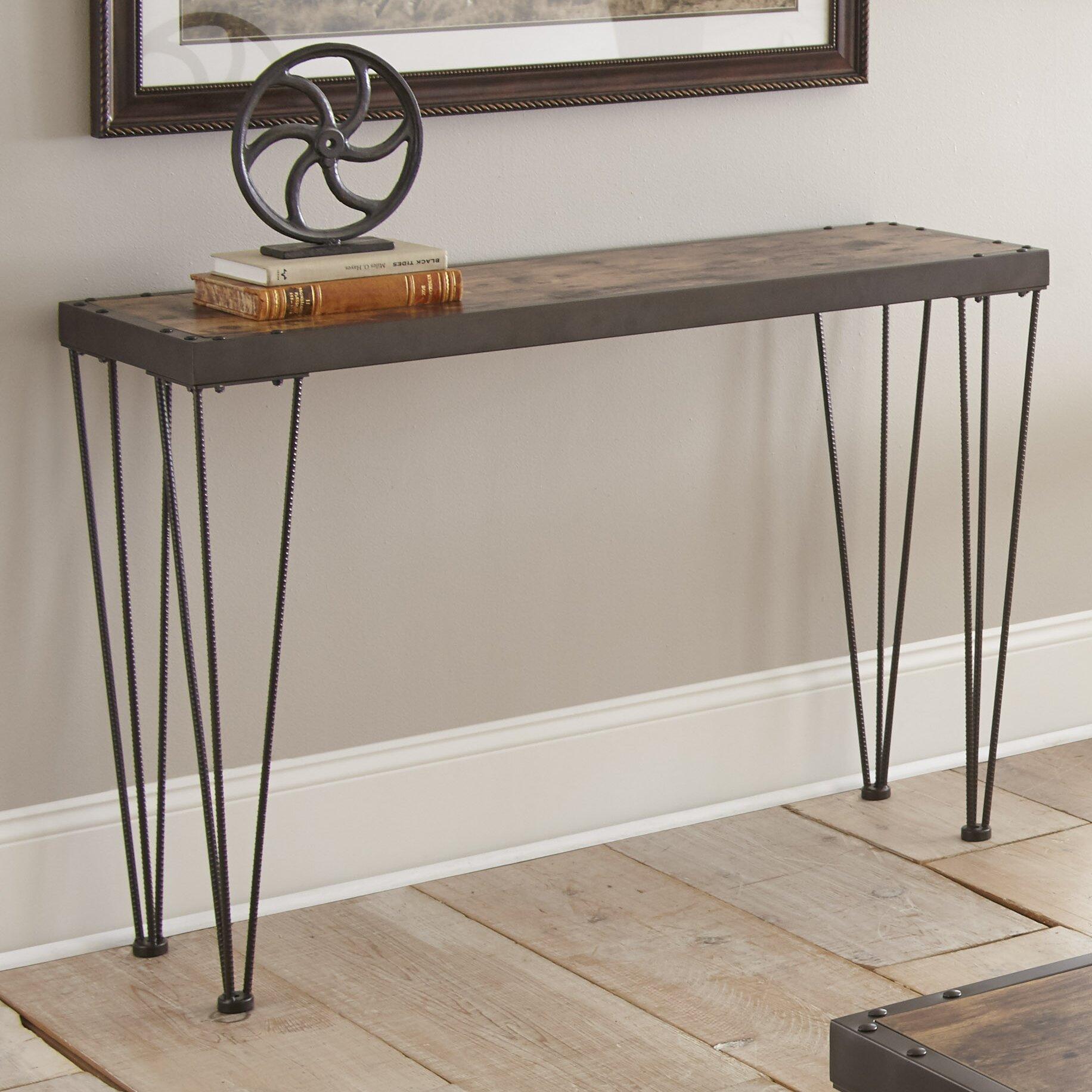 Laurel foundry modern farmhouse owen console table - Laurel foundry modern farmhouse bedroom ...