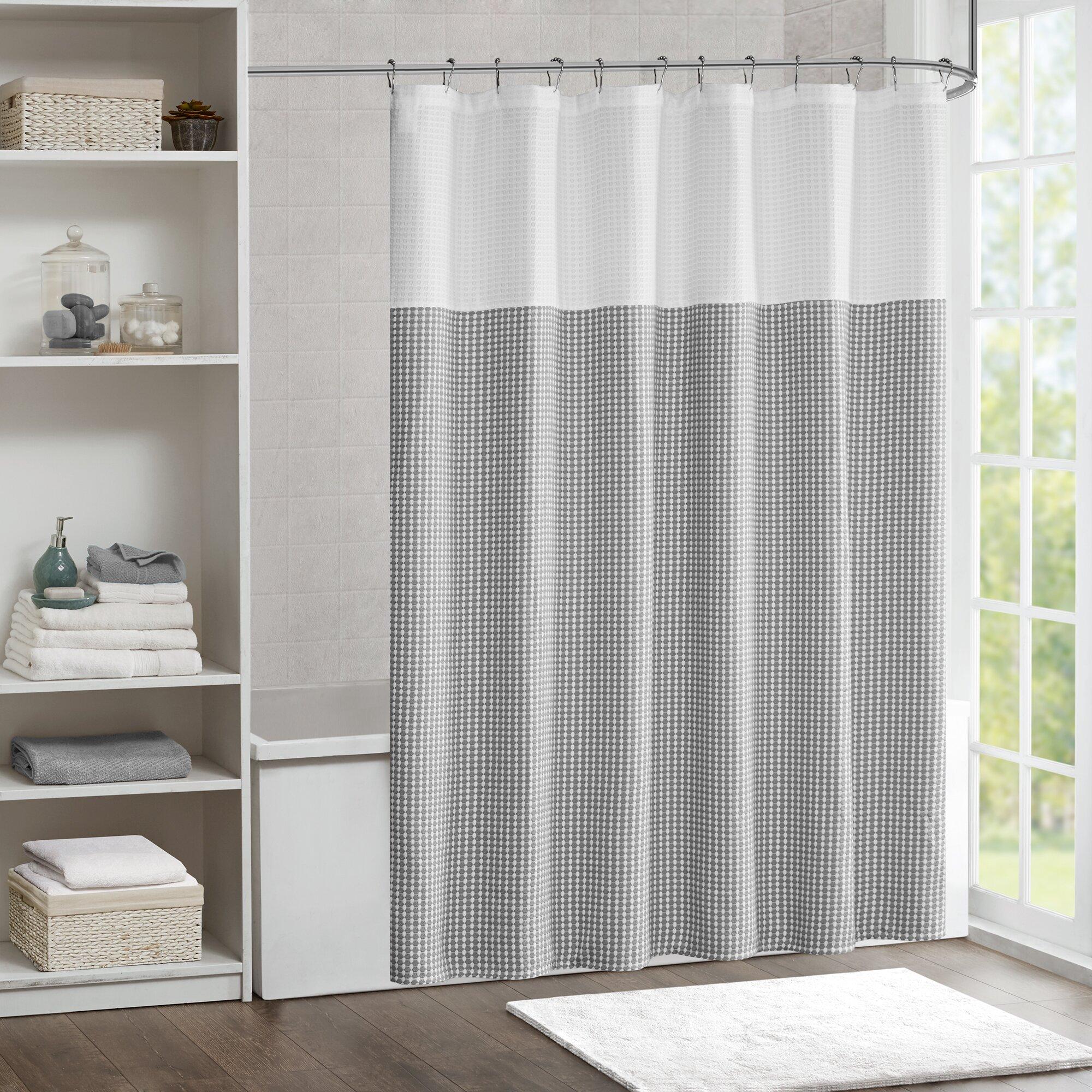 Laurel Foundry Modern Farmhouse Moreland Shower Curtain Reviews Wayfair