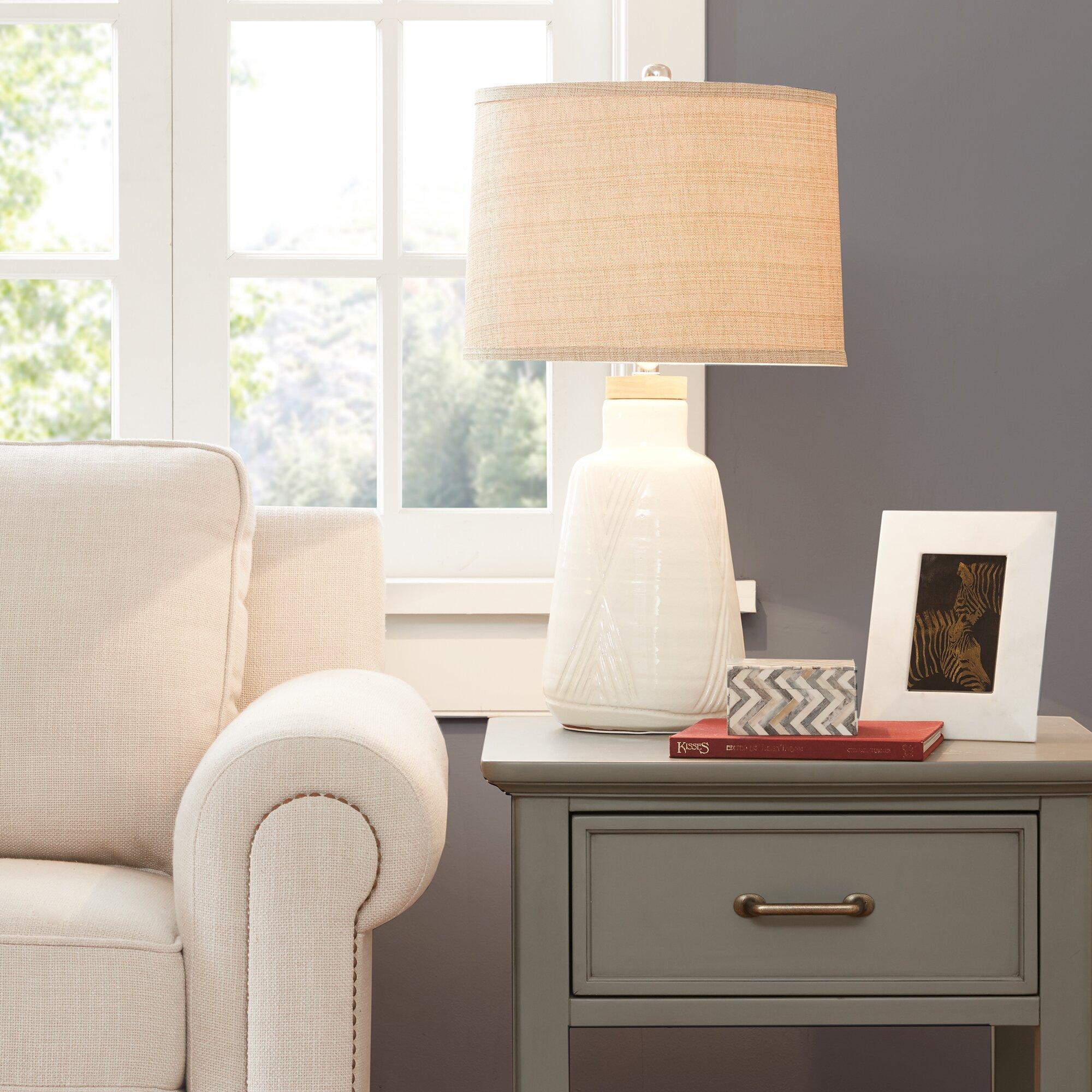 """Laurel Foundry Modern Farmhouse Newton 24.5"""" Table Lamp ..."""