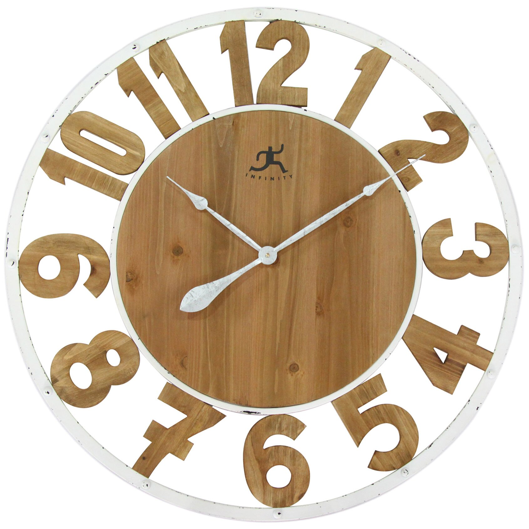 Laurel Foundry Modern Farmhouse Oversized 32 Quot Wall Clock