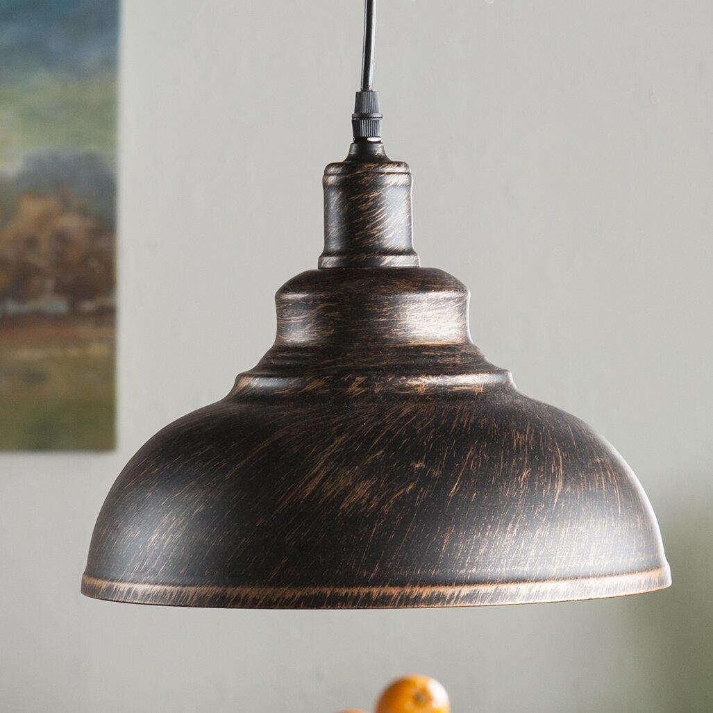 Laurel Foundry Modern Farmhouse Estella 1 Light Inverted Pendant & Reviews