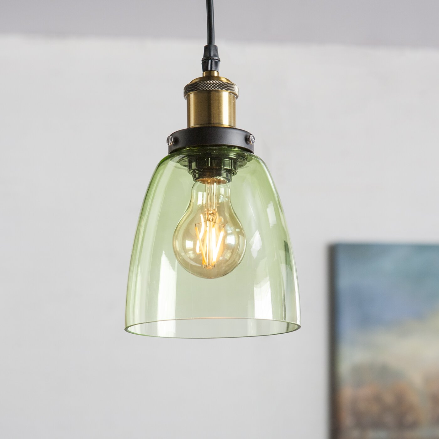 Laurel Foundry Modern Farmhouse Ethelyn 1 Light Mini Pendant
