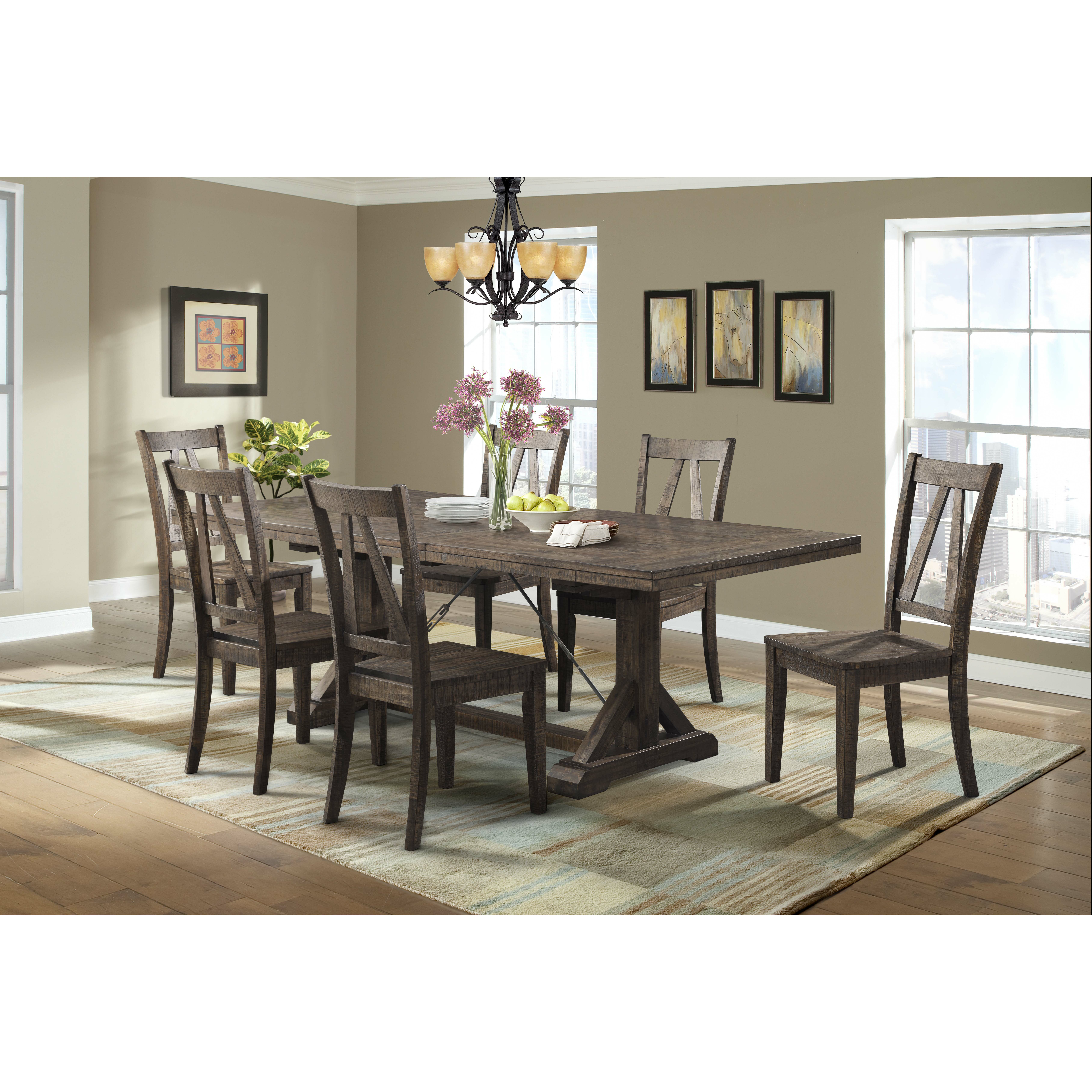 Dining Tables With Bench: Laurel Foundry Modern Farmhouse Guerande Dining Table