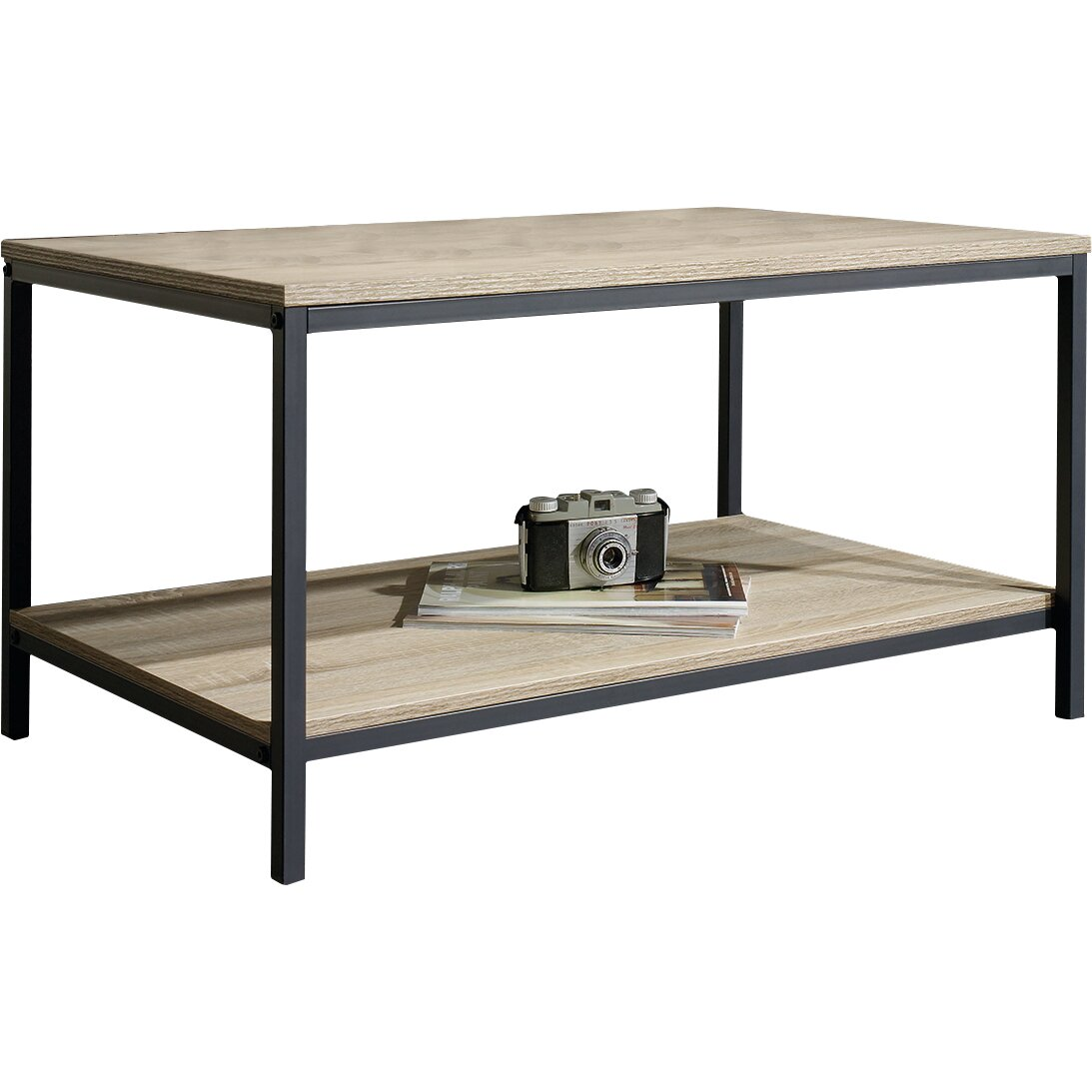 Modern Farmhouse Coffee Table: Laurel Foundry Modern Farmhouse Ermont Coffee Table