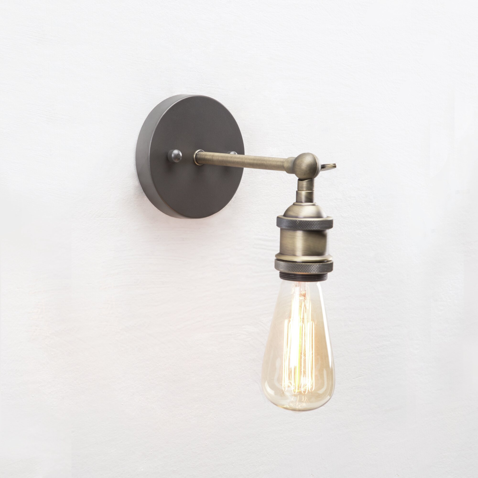 Laurel Foundry Modern Farmhouse Monroe 1 Light Wall Sconce & Reviews