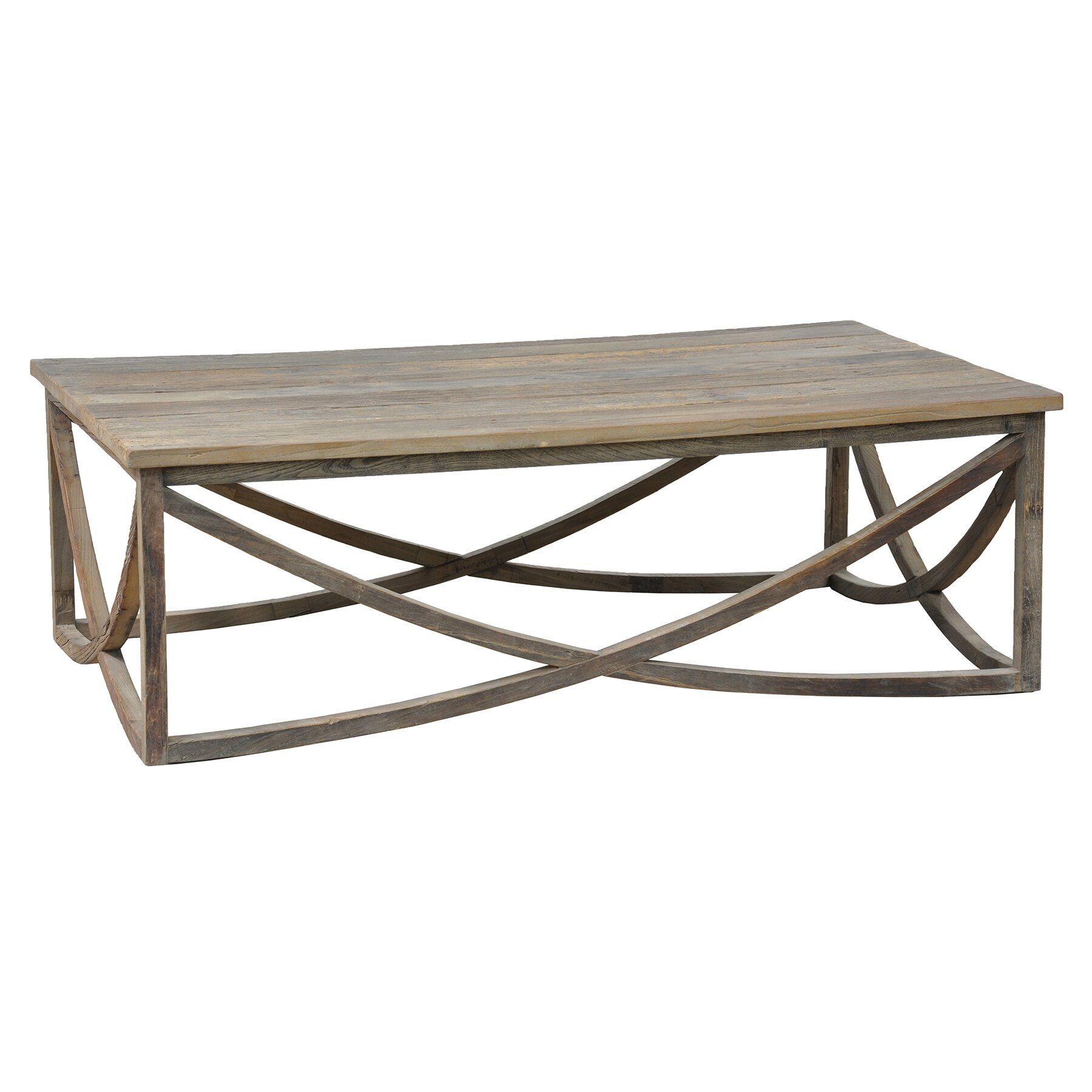Laurel foundry modern farmhouse corning coffee table for Modern farmhouse coffee table
